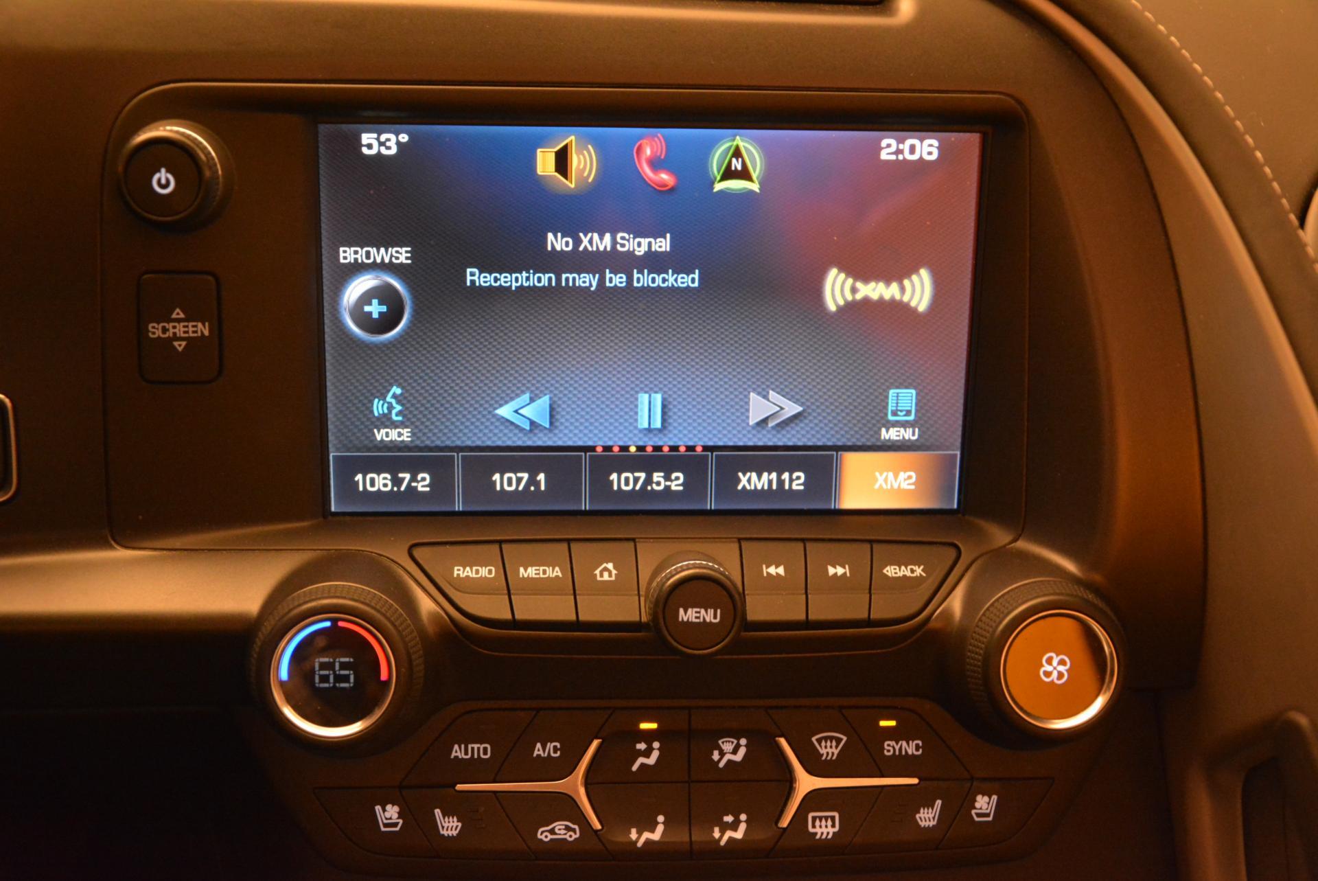 Used 2014 Chevrolet Corvette Stingray Z51 For Sale In Greenwich, CT. Alfa Romeo of Greenwich, 7088 523_p23