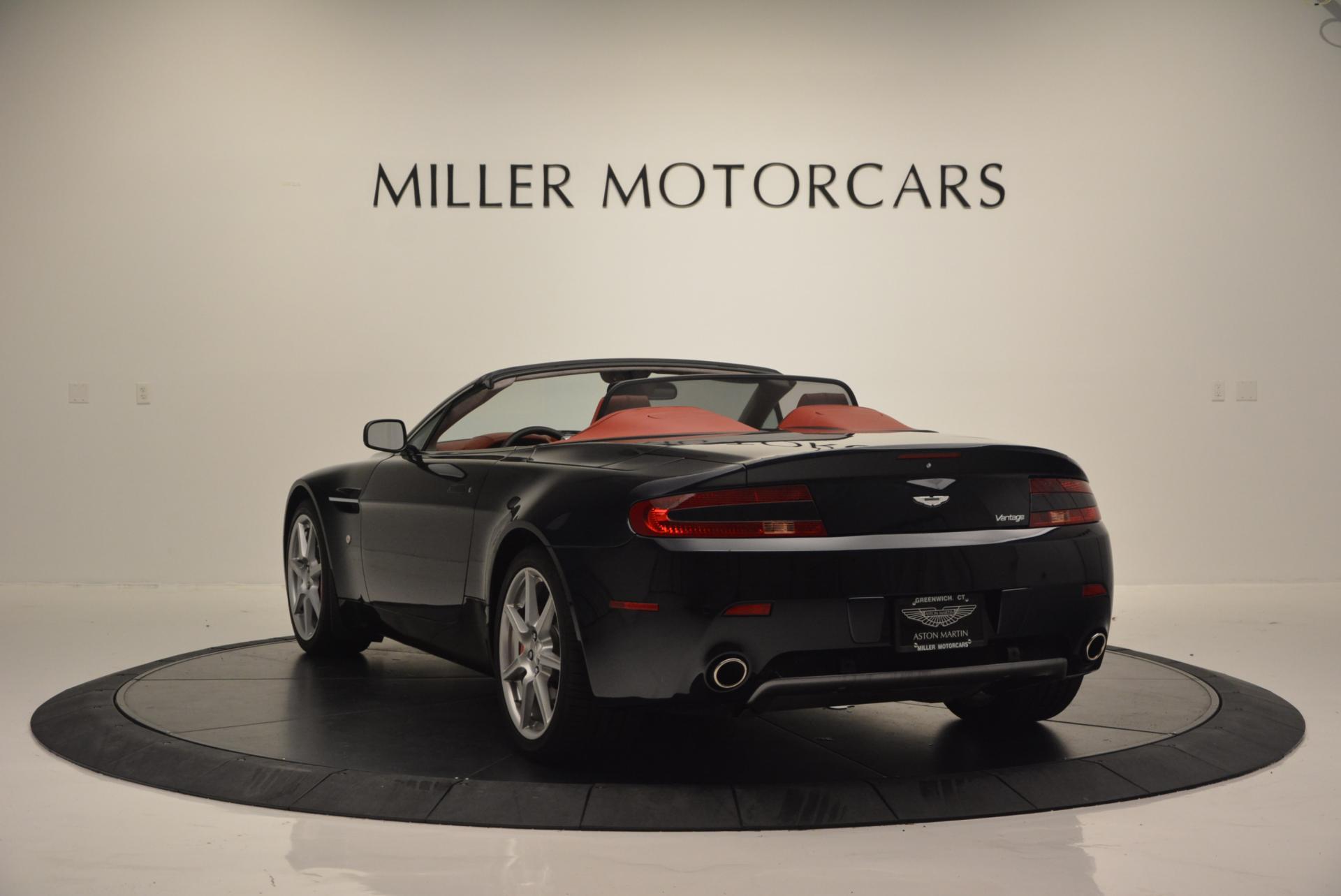 2008 Aston Martin V8 Vantage Roadster Stock # 7038 for sale
