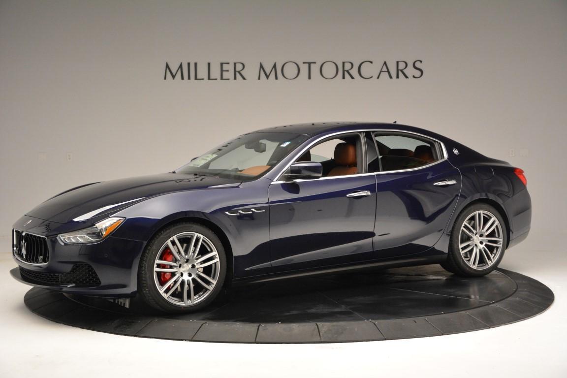New 2016 Maserati Ghibli S Q4 For Sale In Greenwich, CT. Alfa Romeo of Greenwich, W228 53_p2