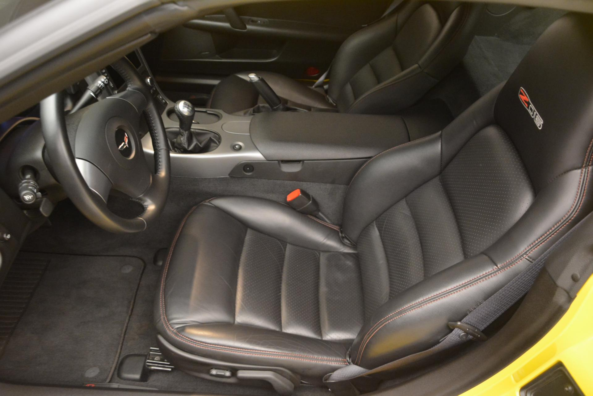 Used 2006 Chevrolet Corvette Z06 Hardtop For Sale In Greenwich, CT. Alfa Romeo of Greenwich, 7085 530_p13