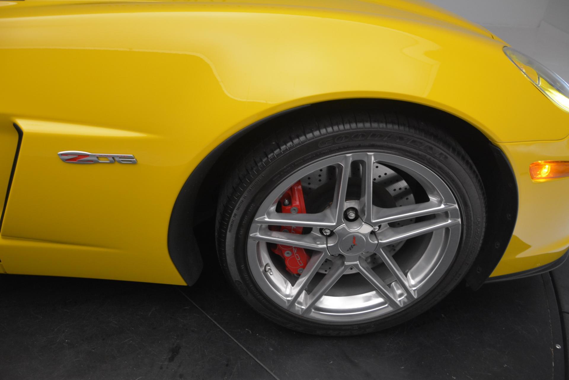 Used 2006 Chevrolet Corvette Z06 Hardtop For Sale In Greenwich, CT. Alfa Romeo of Greenwich, 7085 530_p18