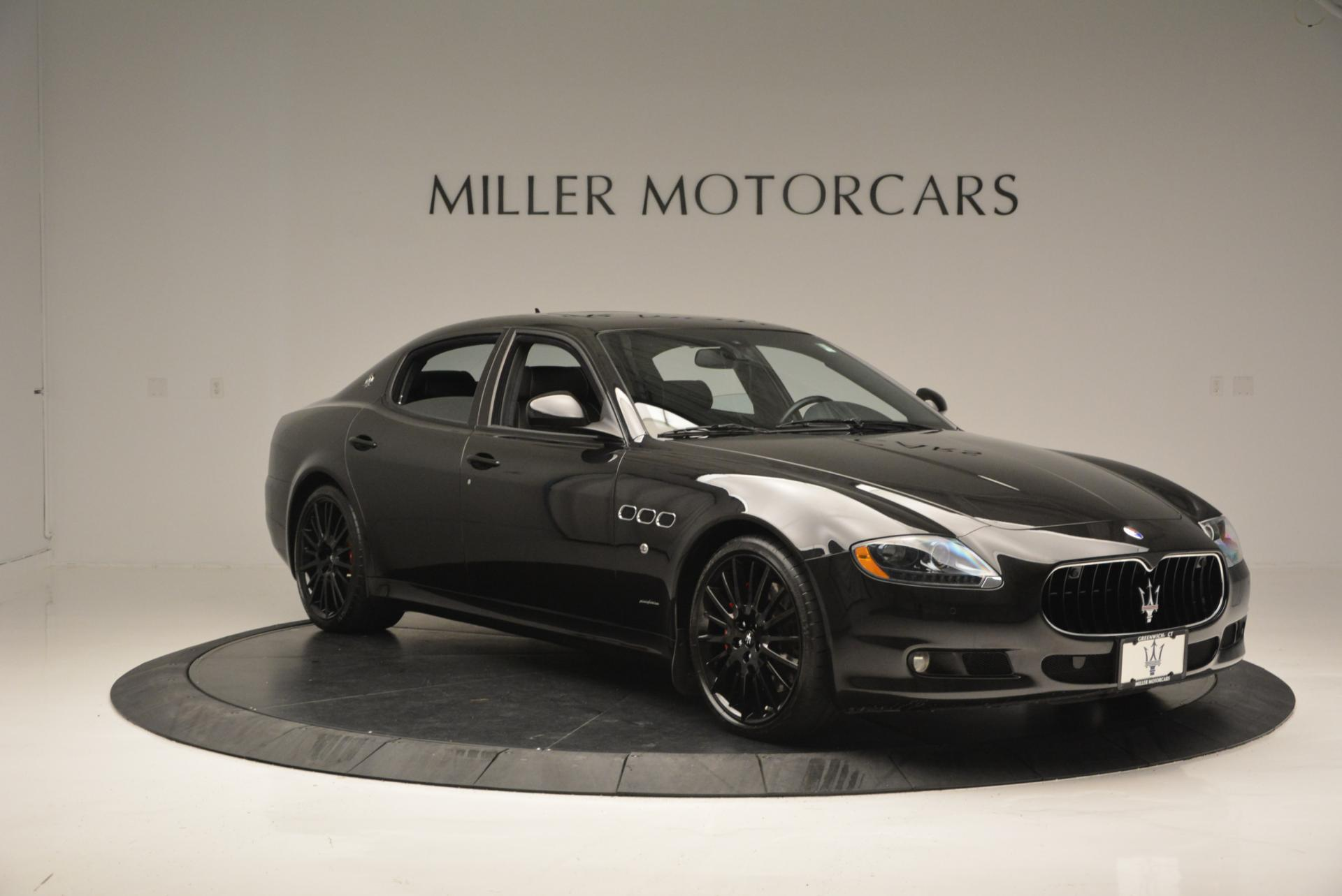 Used 2011 Maserati Quattroporte Sport GT S For Sale In Greenwich, CT. Alfa Romeo of Greenwich, 7080 531_p11