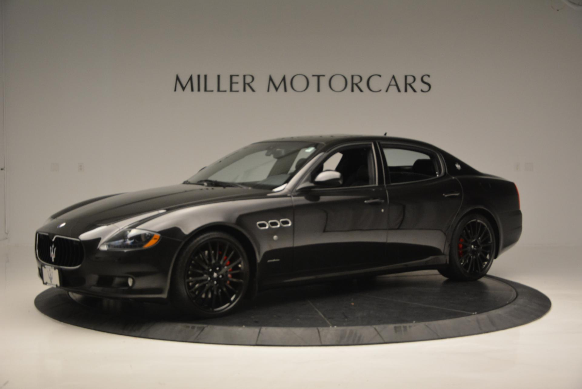 Used 2011 Maserati Quattroporte Sport GT S For Sale In Greenwich, CT. Alfa Romeo of Greenwich, 7080 531_p2