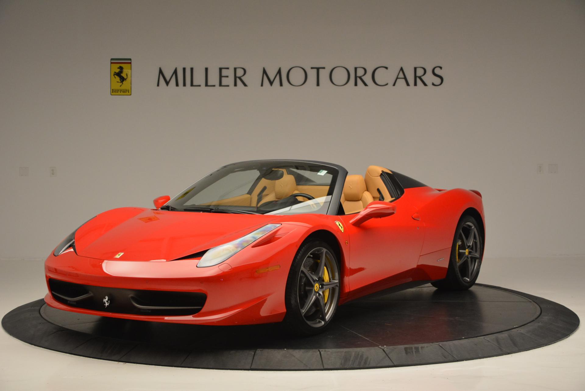 Used 2013 Ferrari 458 Spider  For Sale In Greenwich, CT. Alfa Romeo of Greenwich, 4341 537_main
