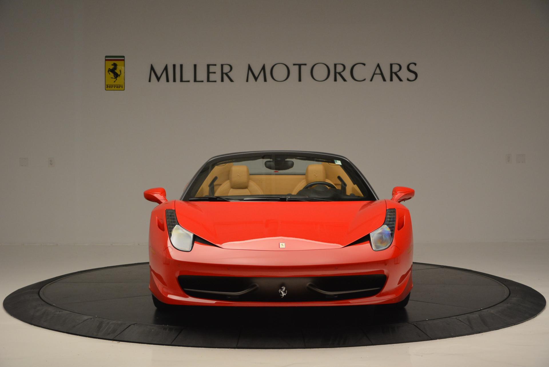 Used 2013 Ferrari 458 Spider  For Sale In Greenwich, CT. Alfa Romeo of Greenwich, 4341 537_p12