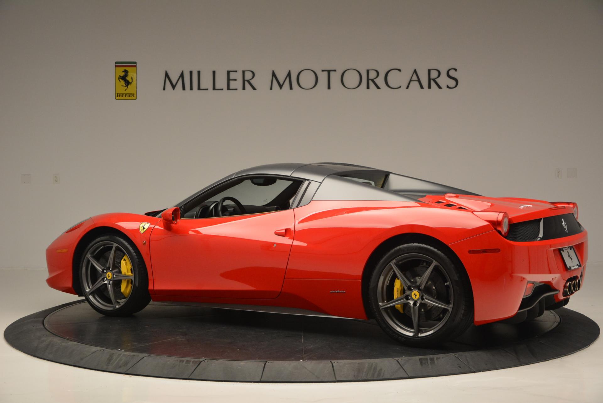 Used 2013 Ferrari 458 Spider  For Sale In Greenwich, CT. Alfa Romeo of Greenwich, 4341 537_p16