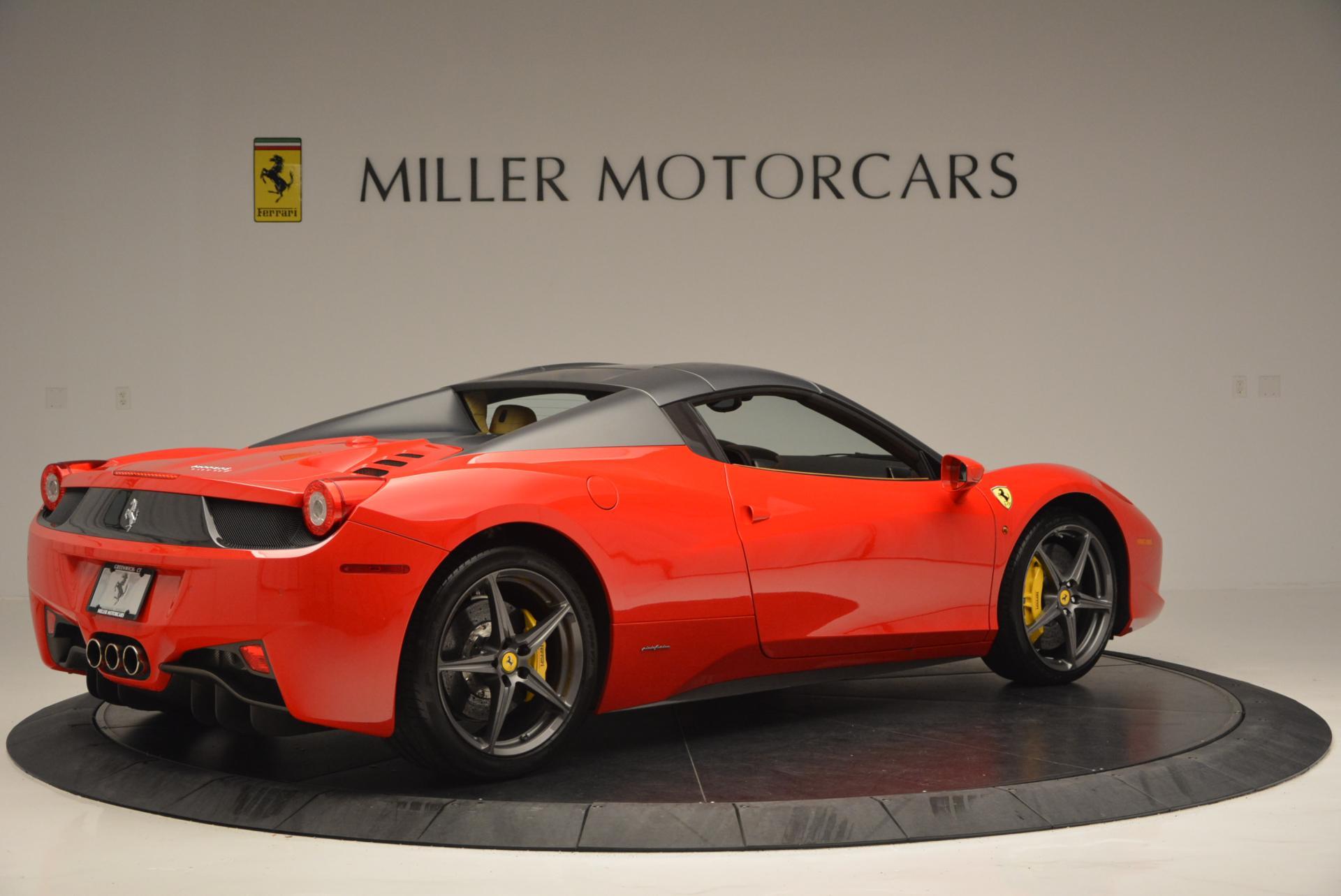 Used 2013 Ferrari 458 Spider  For Sale In Greenwich, CT. Alfa Romeo of Greenwich, 4341 537_p20