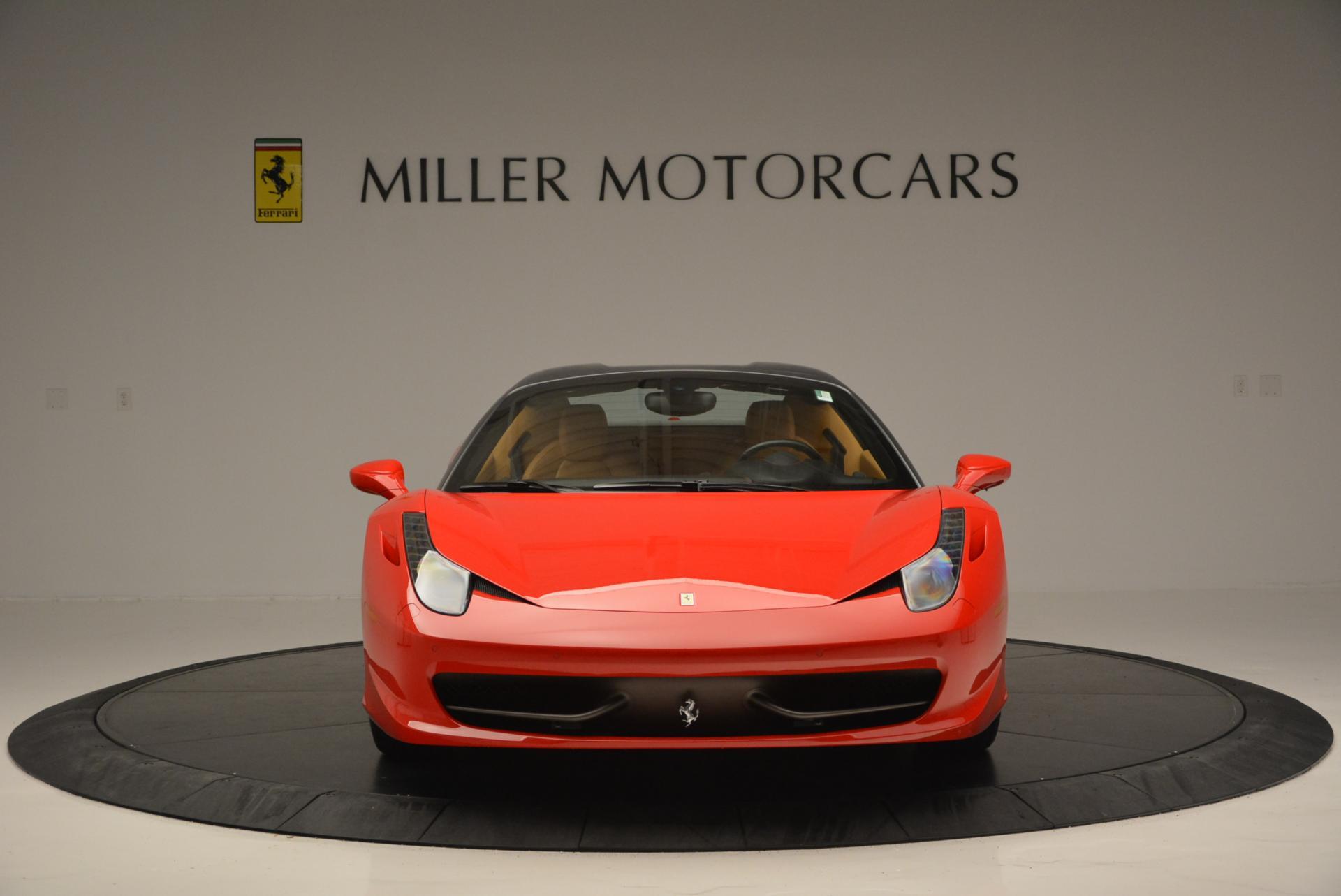 Used 2013 Ferrari 458 Spider  For Sale In Greenwich, CT. Alfa Romeo of Greenwich, 4341 537_p24
