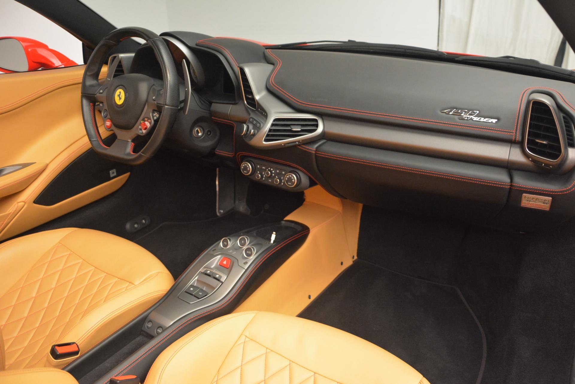 Used 2013 Ferrari 458 Spider  For Sale In Greenwich, CT. Alfa Romeo of Greenwich, 4341 537_p29