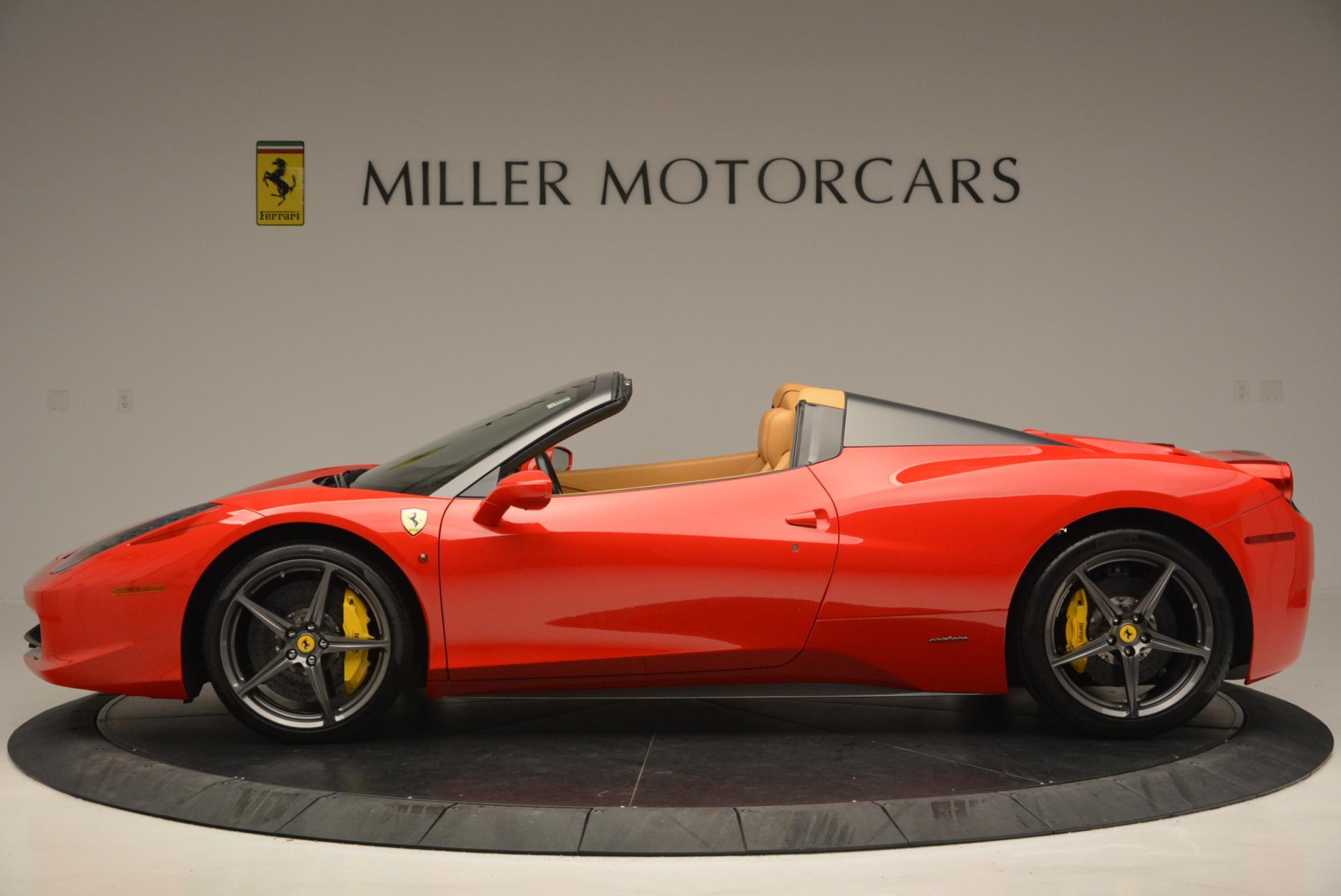 Used 2013 Ferrari 458 Spider  For Sale In Greenwich, CT. Alfa Romeo of Greenwich, 4341 537_p3