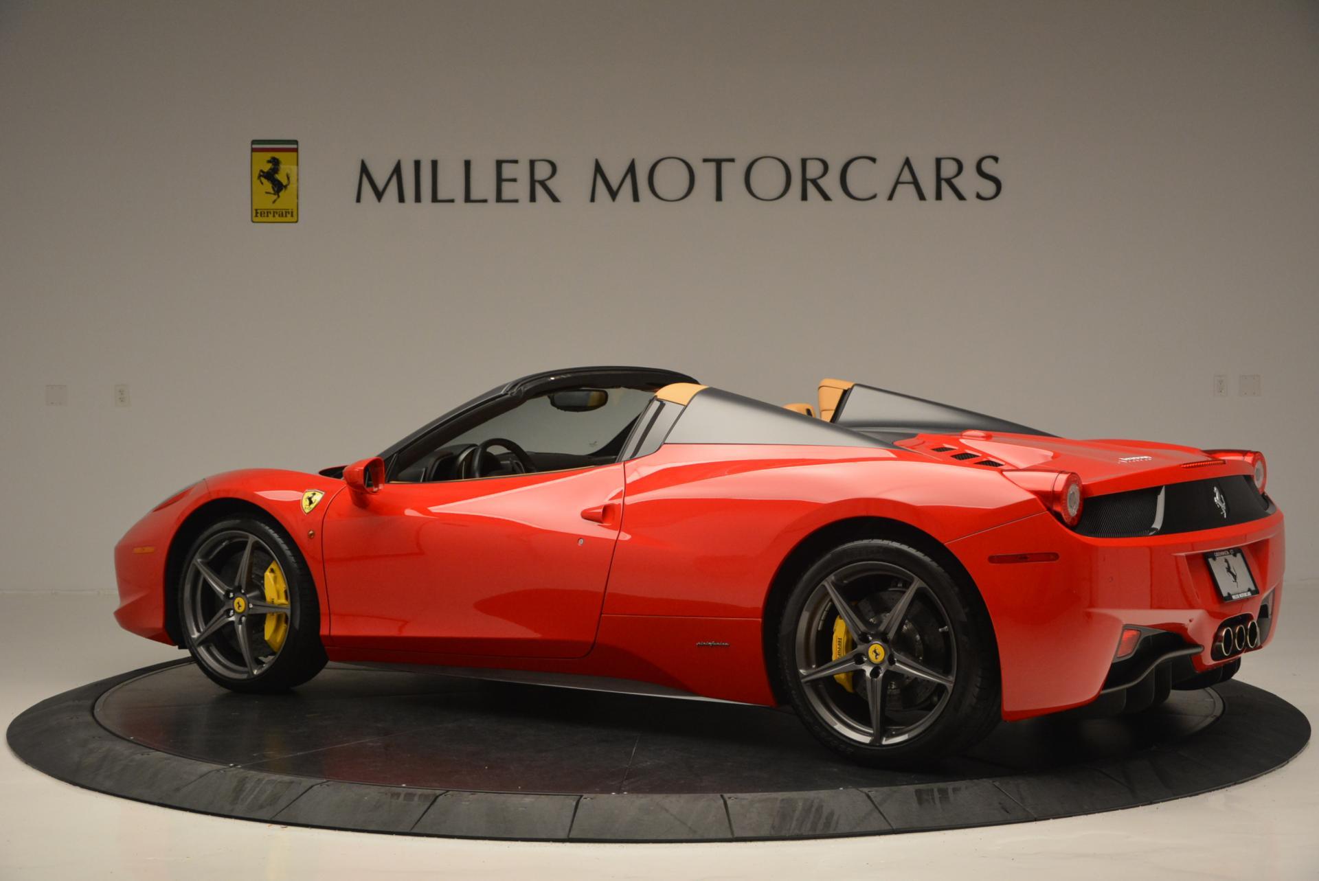 Used 2013 Ferrari 458 Spider  For Sale In Greenwich, CT. Alfa Romeo of Greenwich, 4341 537_p4