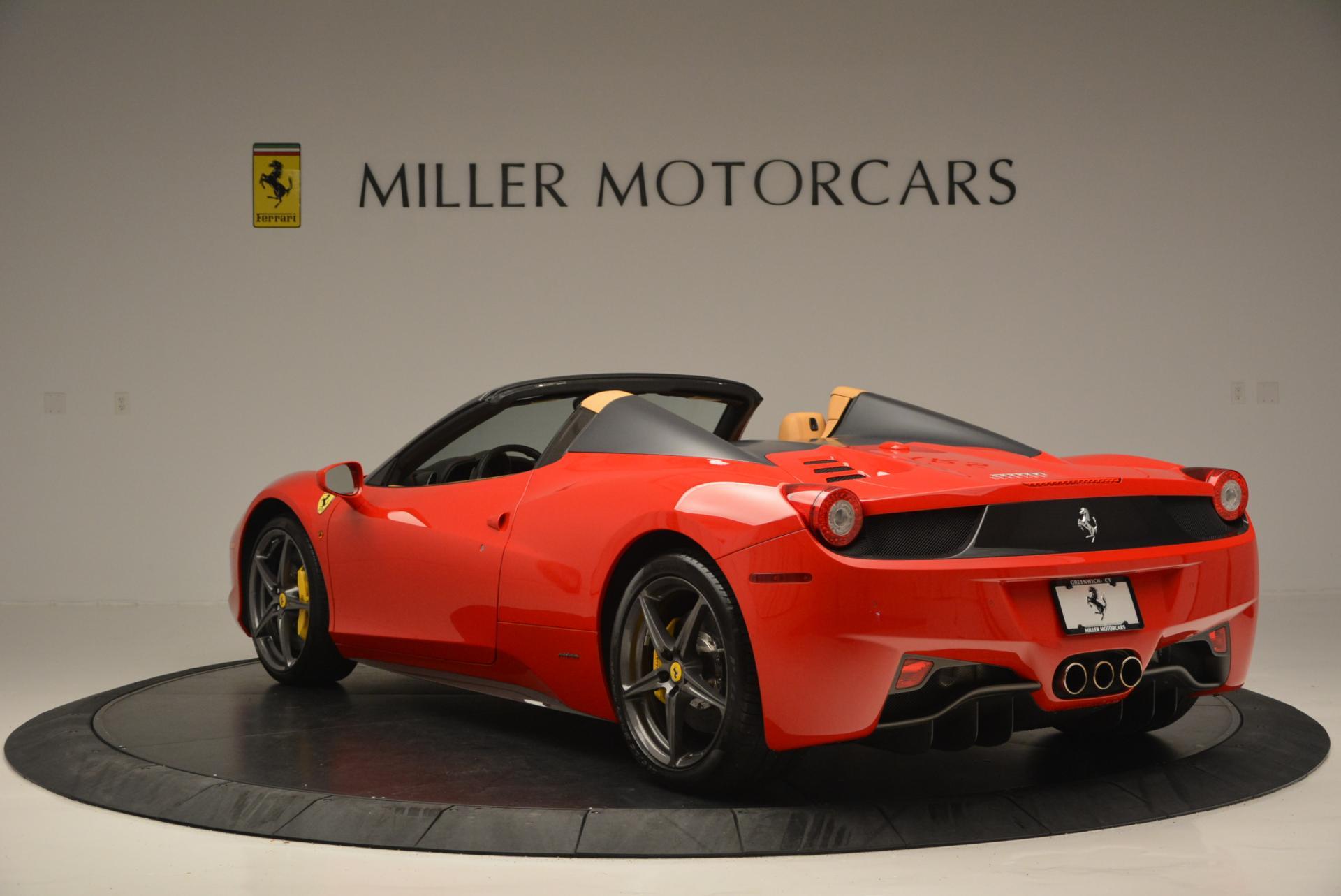 Used 2013 Ferrari 458 Spider  For Sale In Greenwich, CT. Alfa Romeo of Greenwich, 4341 537_p5
