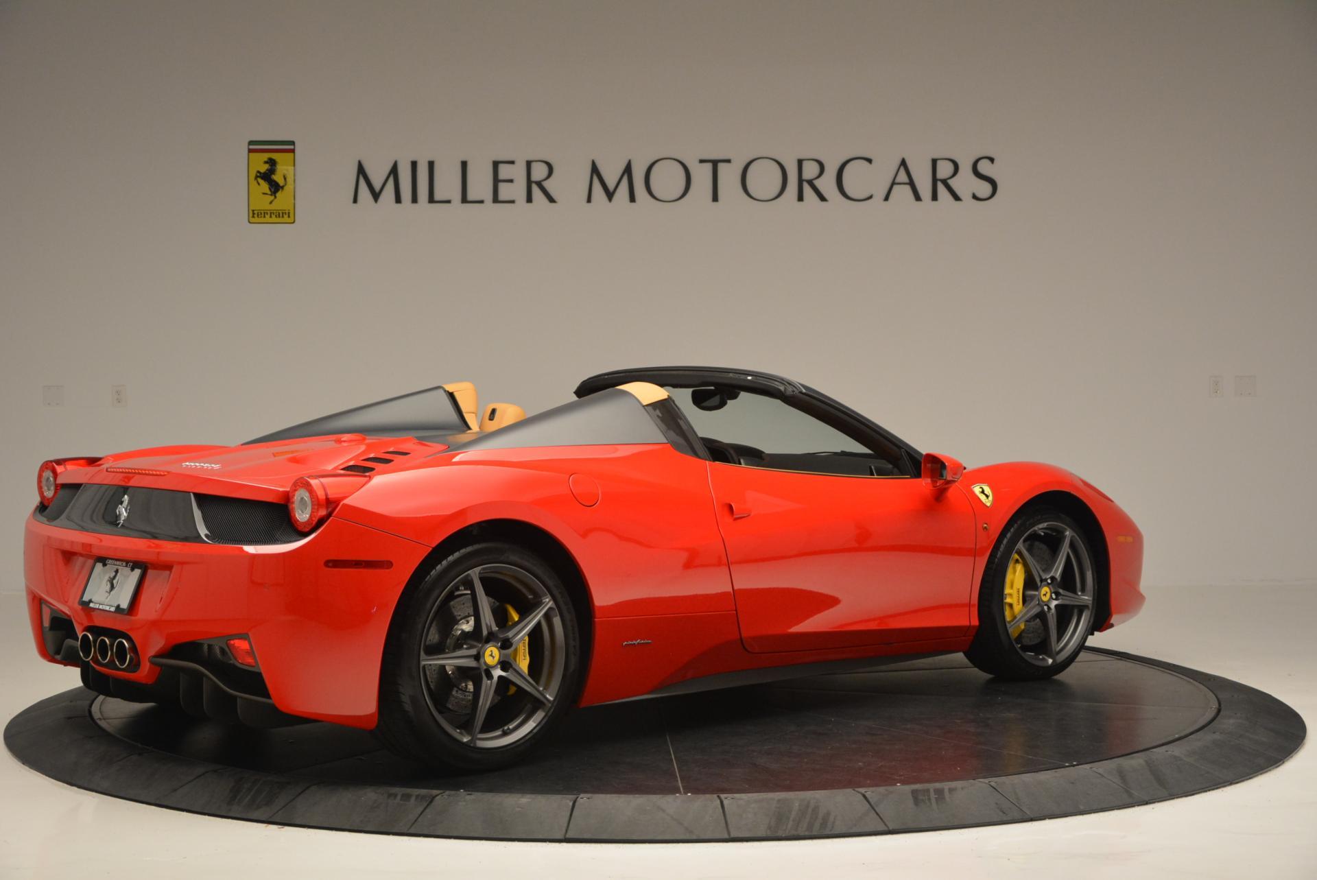 Used 2013 Ferrari 458 Spider  For Sale In Greenwich, CT. Alfa Romeo of Greenwich, 4341 537_p8