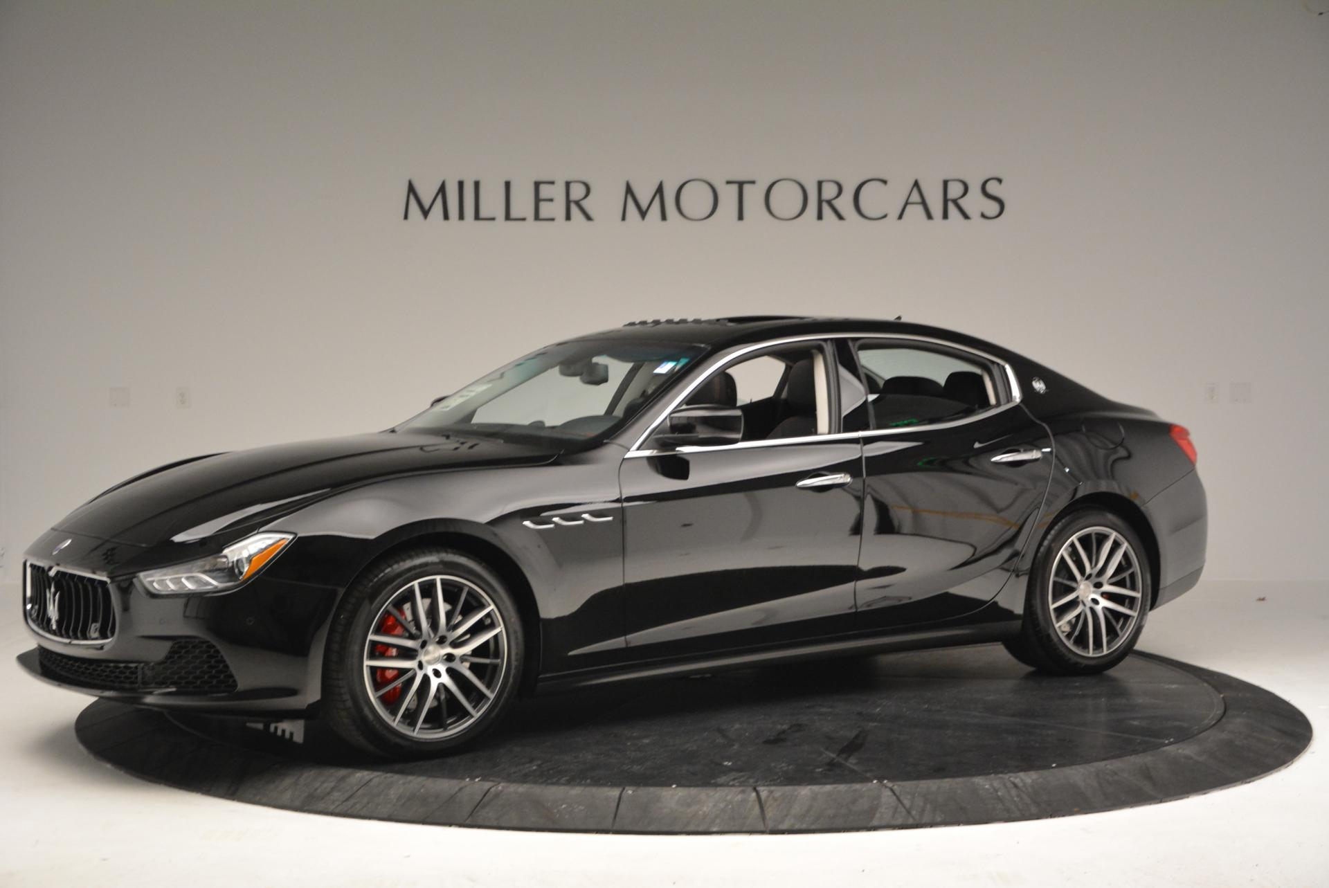 Used 2016 Maserati Ghibli S Q4 For Sale In Greenwich, CT. Alfa Romeo of Greenwich, W210
