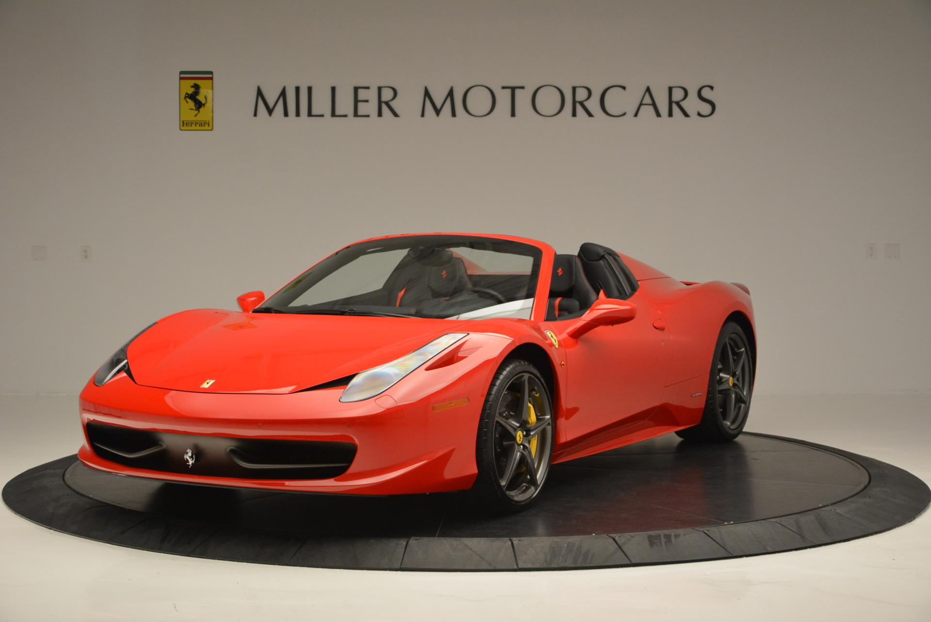 Used 2015 Ferrari 458 Spider  For Sale In Greenwich, CT. Alfa Romeo of Greenwich, 4335