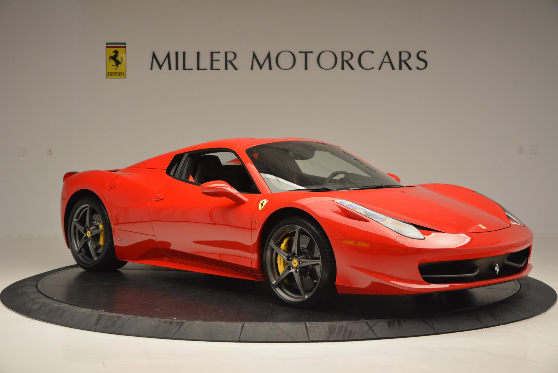 Used 2015 Ferrari 458 Spider  For Sale In Greenwich, CT. Alfa Romeo of Greenwich, 4335 542_p22