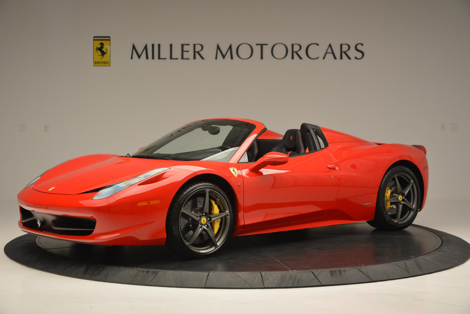 Used 2015 Ferrari 458 Spider  For Sale In Greenwich, CT. Alfa Romeo of Greenwich, 4335 542_p2