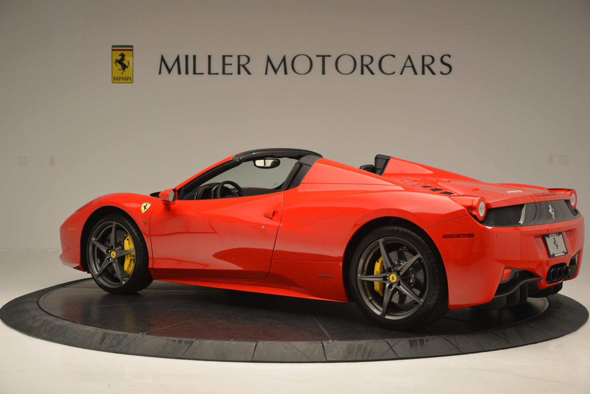 Used 2015 Ferrari 458 Spider  For Sale In Greenwich, CT. Alfa Romeo of Greenwich, 4335 542_p4
