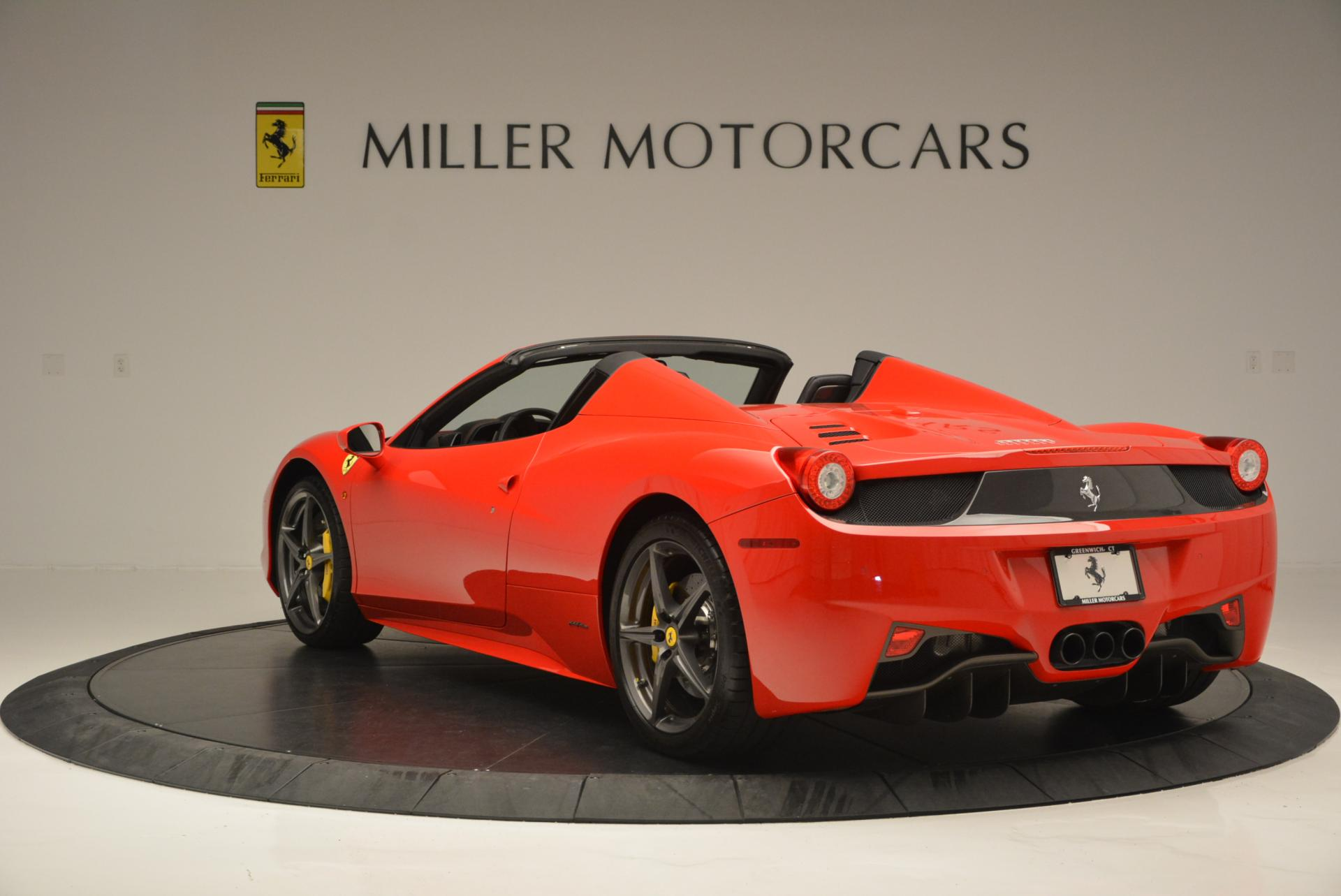 Used 2015 Ferrari 458 Spider  For Sale In Greenwich, CT. Alfa Romeo of Greenwich, 4335 542_p5