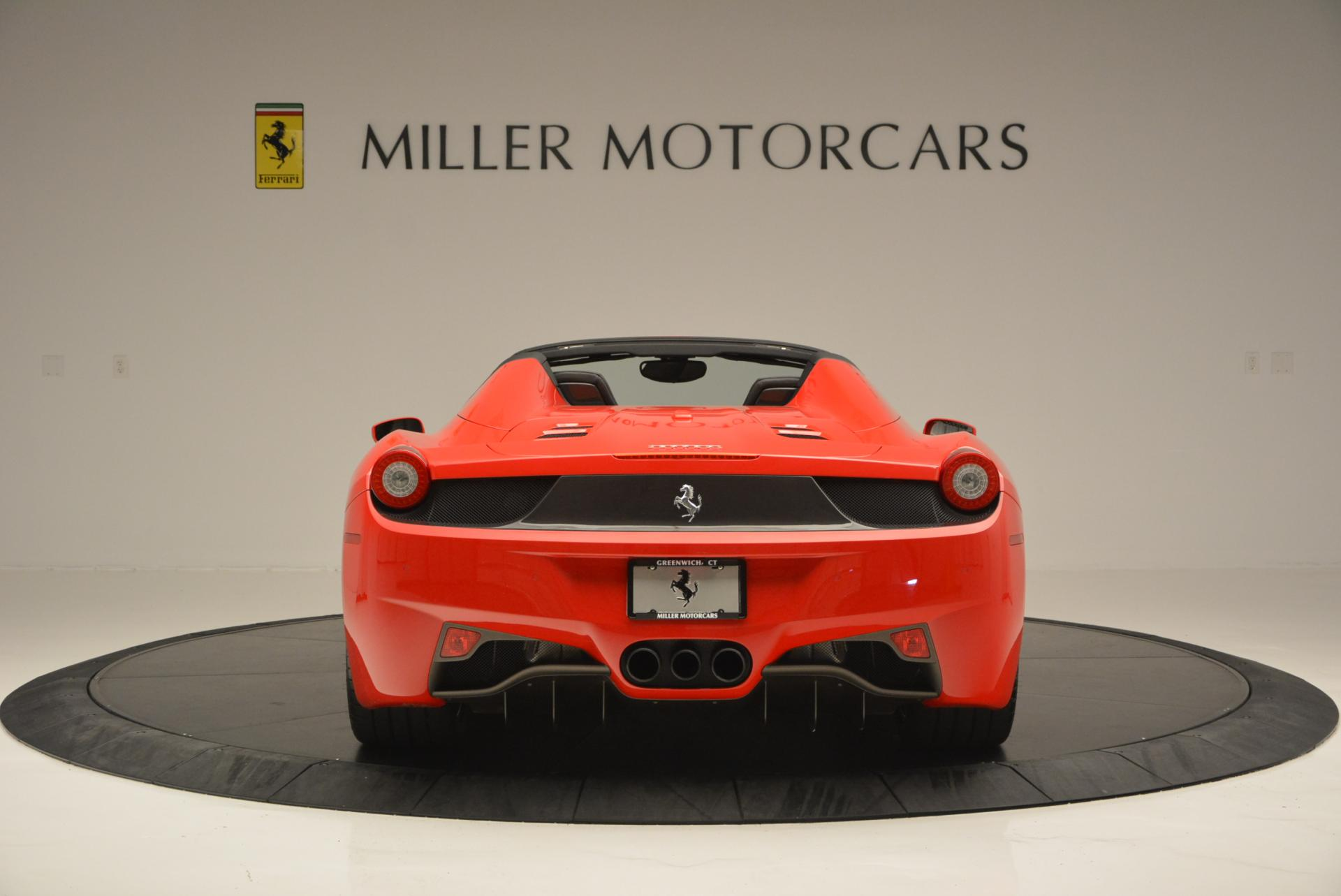 Used 2015 Ferrari 458 Spider  For Sale In Greenwich, CT. Alfa Romeo of Greenwich, 4335 542_p6