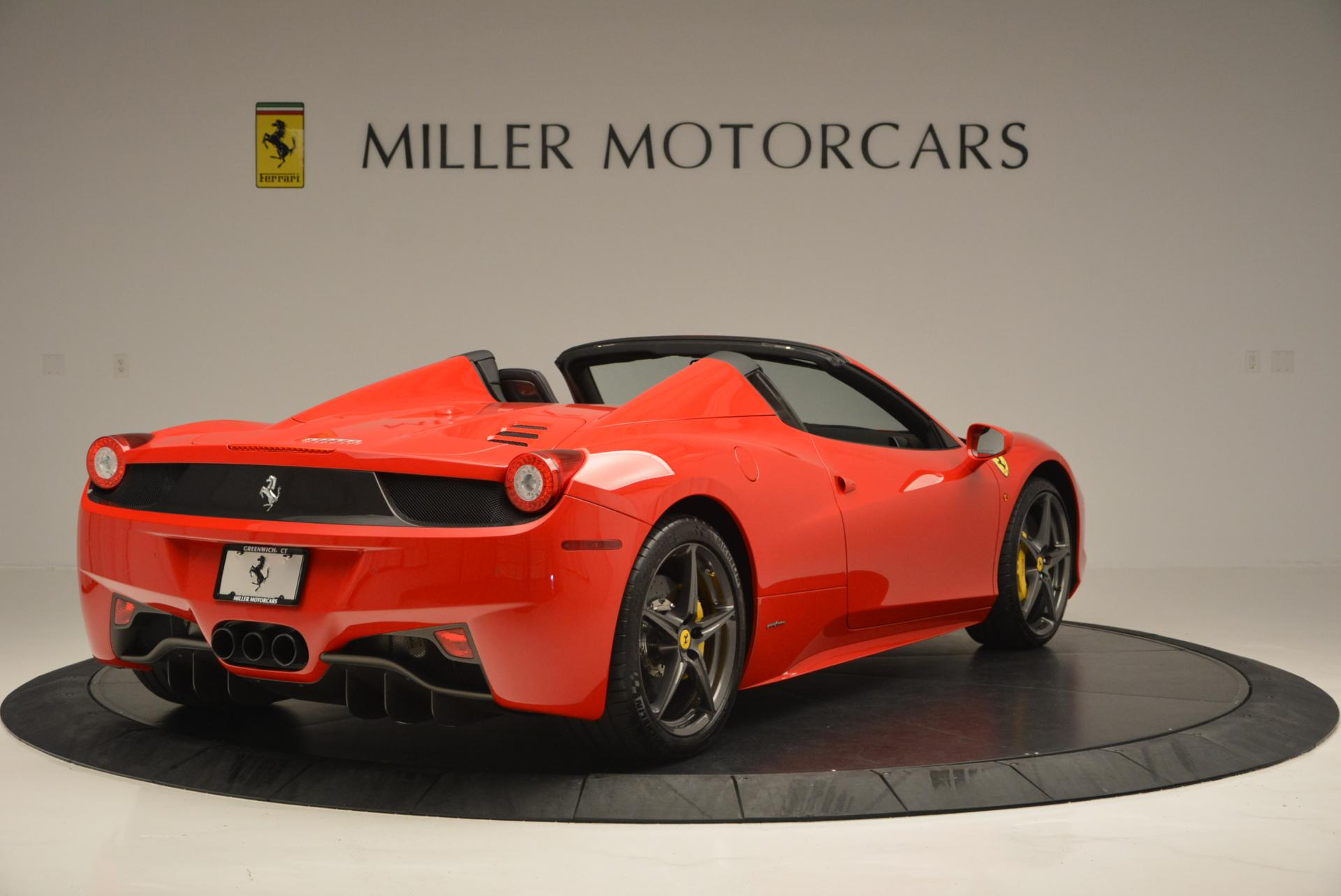 Used 2015 Ferrari 458 Spider  For Sale In Greenwich, CT. Alfa Romeo of Greenwich, 4335 542_p7