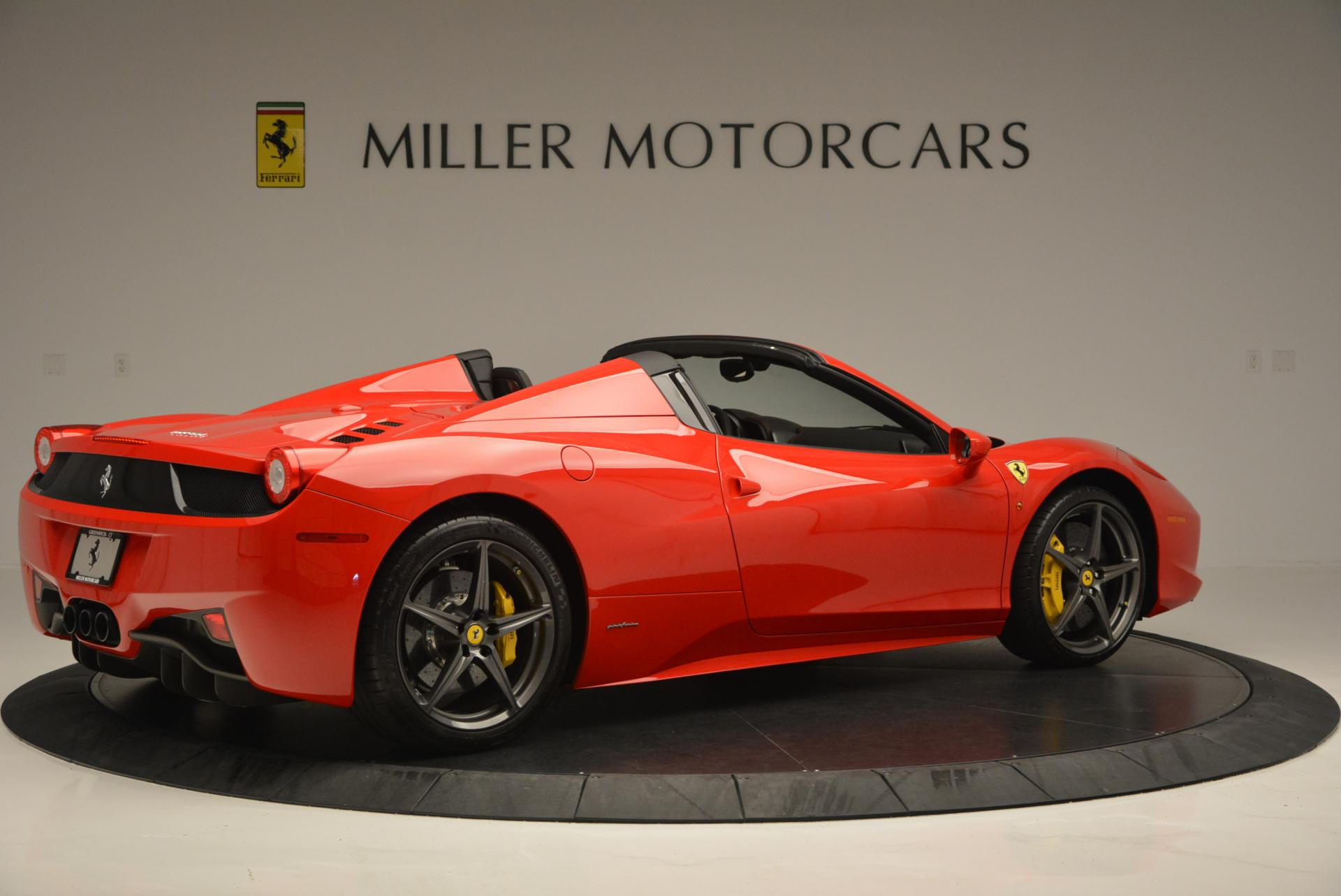 Used 2015 Ferrari 458 Spider  For Sale In Greenwich, CT. Alfa Romeo of Greenwich, 4335 542_p8