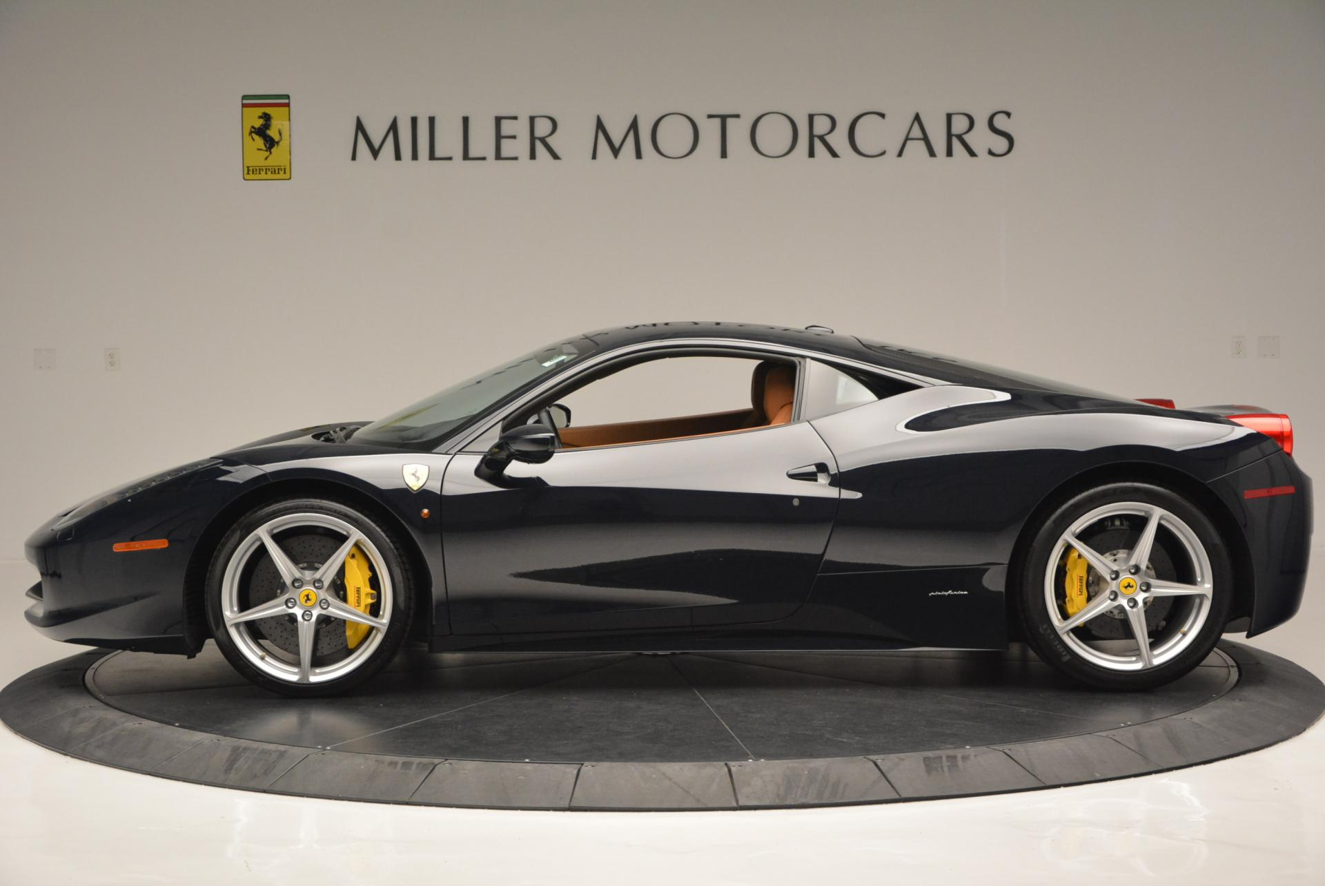 Used 2010 Ferrari 458 Italia  For Sale In Greenwich, CT. Alfa Romeo of Greenwich, 4332 543_p3