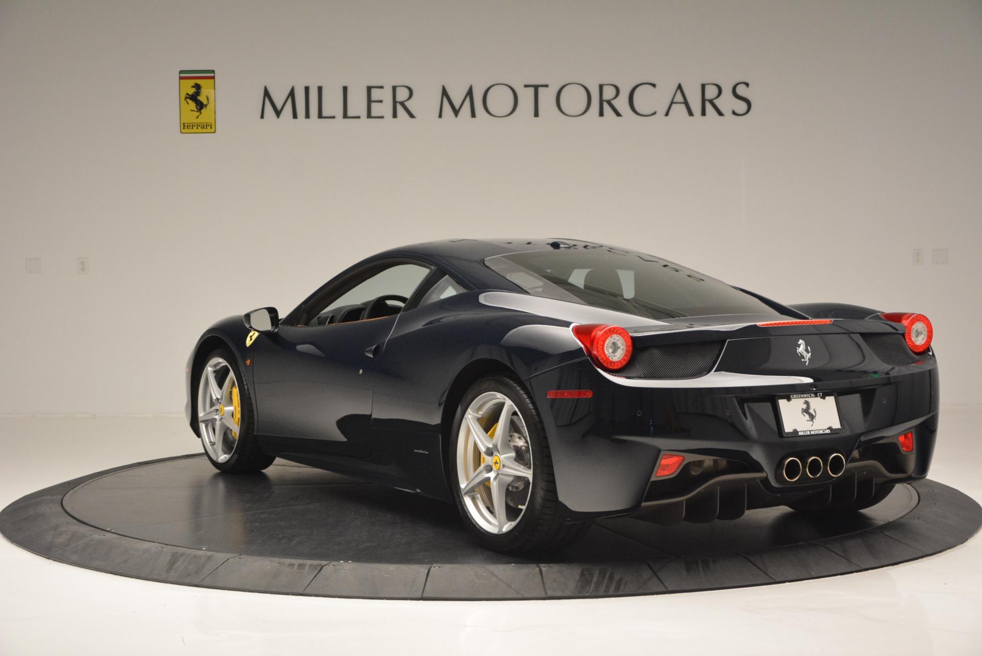 Used 2010 Ferrari 458 Italia  For Sale In Greenwich, CT. Alfa Romeo of Greenwich, 4332 543_p5