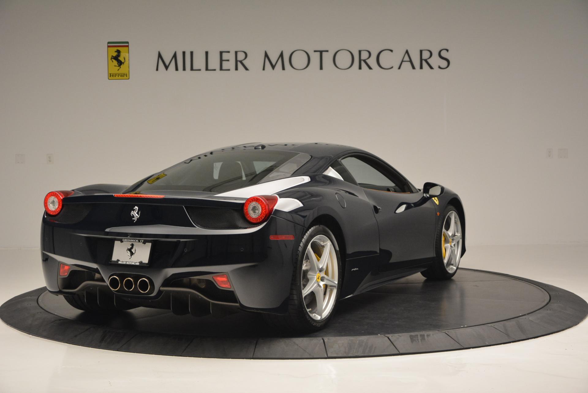 Used 2010 Ferrari 458 Italia  For Sale In Greenwich, CT. Alfa Romeo of Greenwich, 4332 543_p7