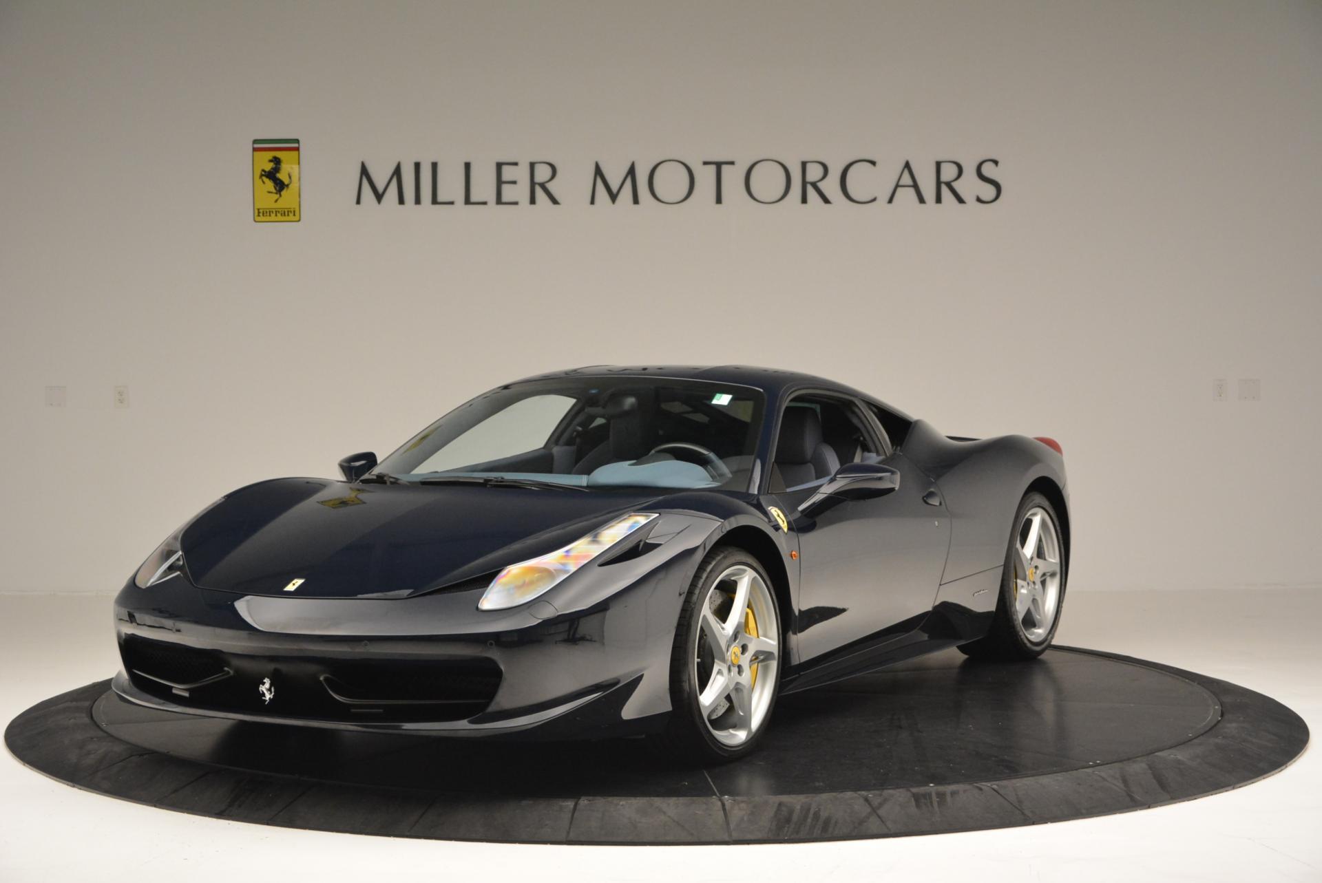Used 2012 Ferrari 458 Italia  For Sale In Greenwich, CT. Alfa Romeo of Greenwich, 4340 550_main