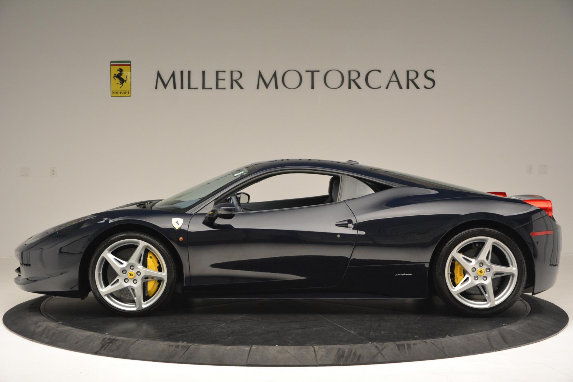 Used 2012 Ferrari 458 Italia  For Sale In Greenwich, CT. Alfa Romeo of Greenwich, 4340 550_p3