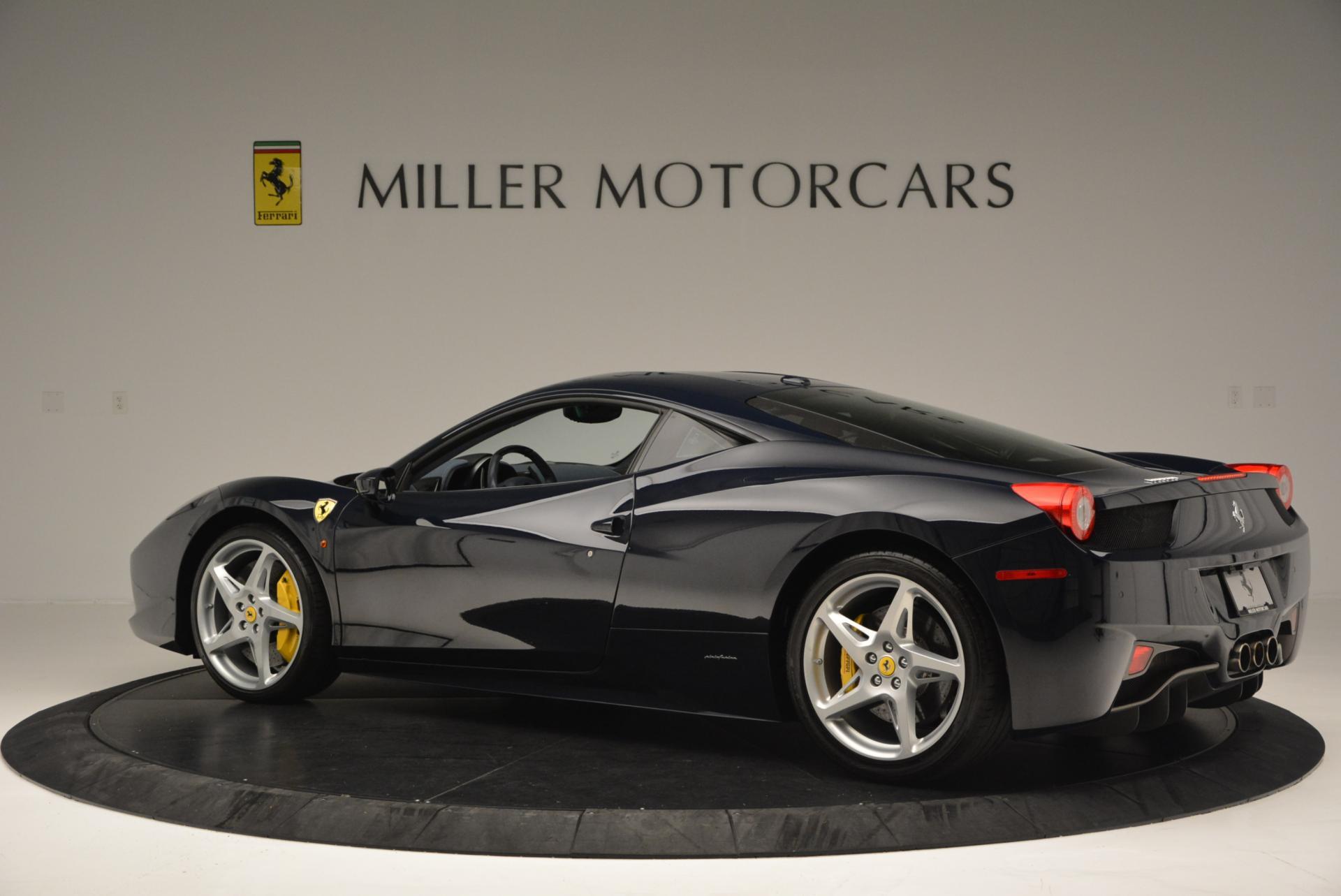 Used 2012 Ferrari 458 Italia  For Sale In Greenwich, CT. Alfa Romeo of Greenwich, 4340 550_p4
