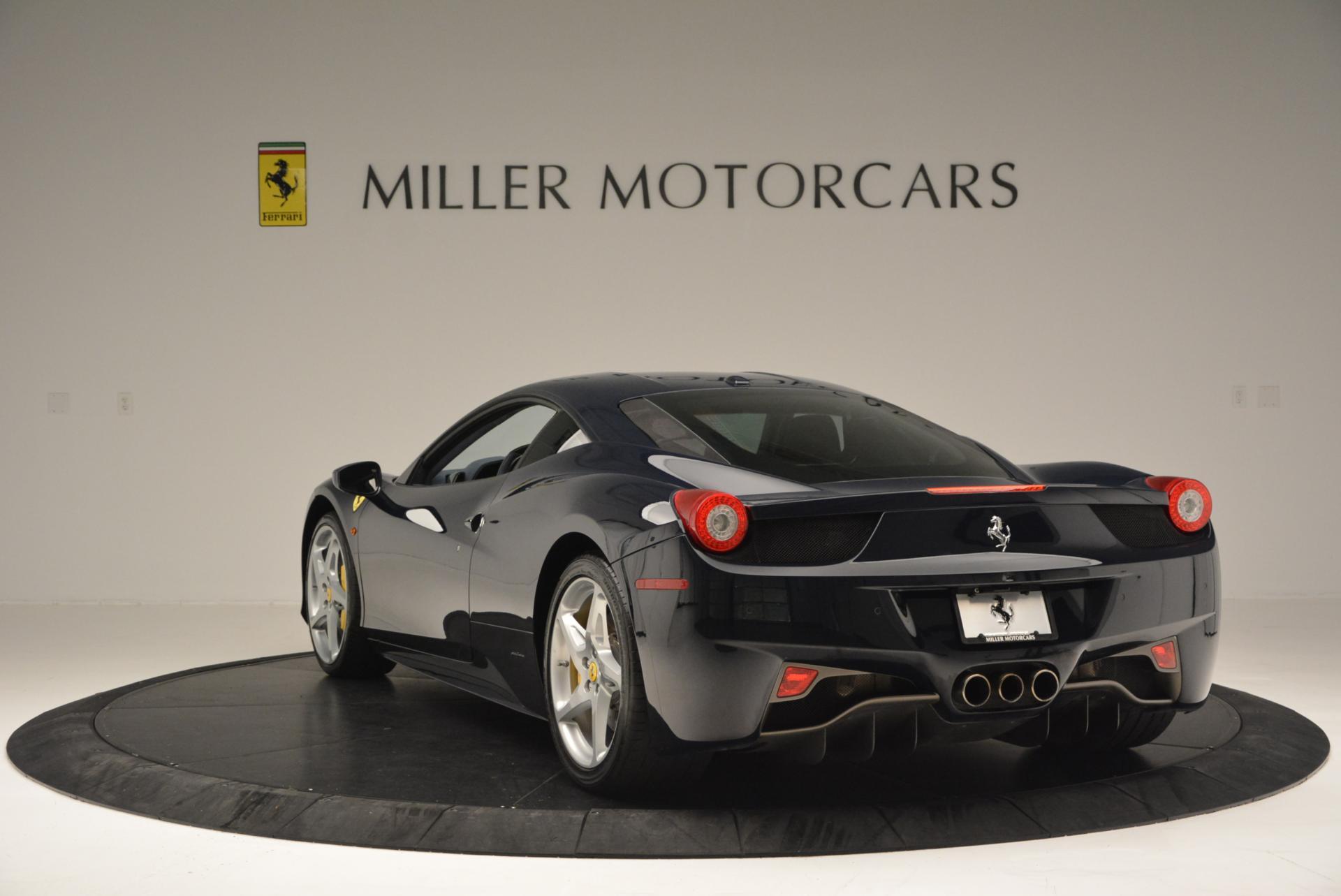 Used 2012 Ferrari 458 Italia  For Sale In Greenwich, CT. Alfa Romeo of Greenwich, 4340 550_p5