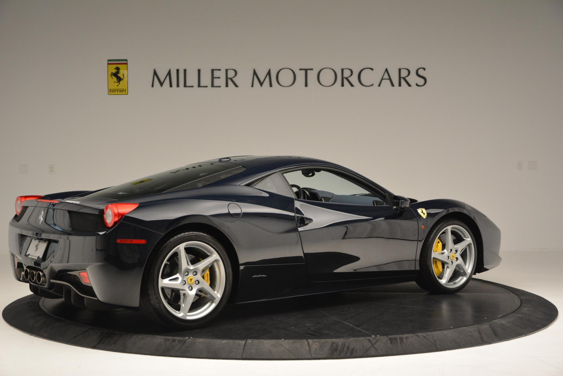 Used 2012 Ferrari 458 Italia  For Sale In Greenwich, CT. Alfa Romeo of Greenwich, 4340 550_p8