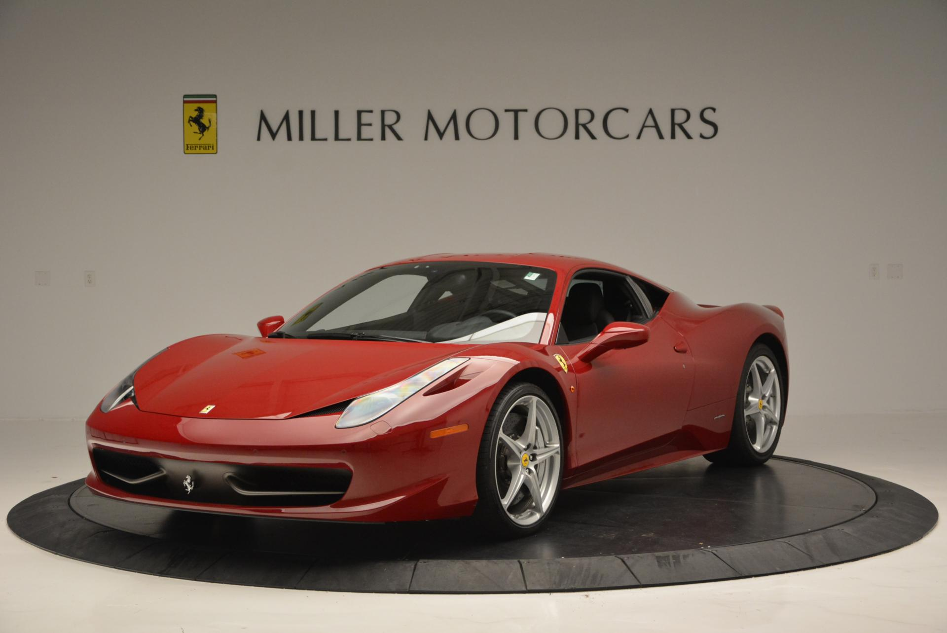 Used 2011 Ferrari 458 Italia  For Sale In Greenwich, CT. Alfa Romeo of Greenwich, 4426 551_main