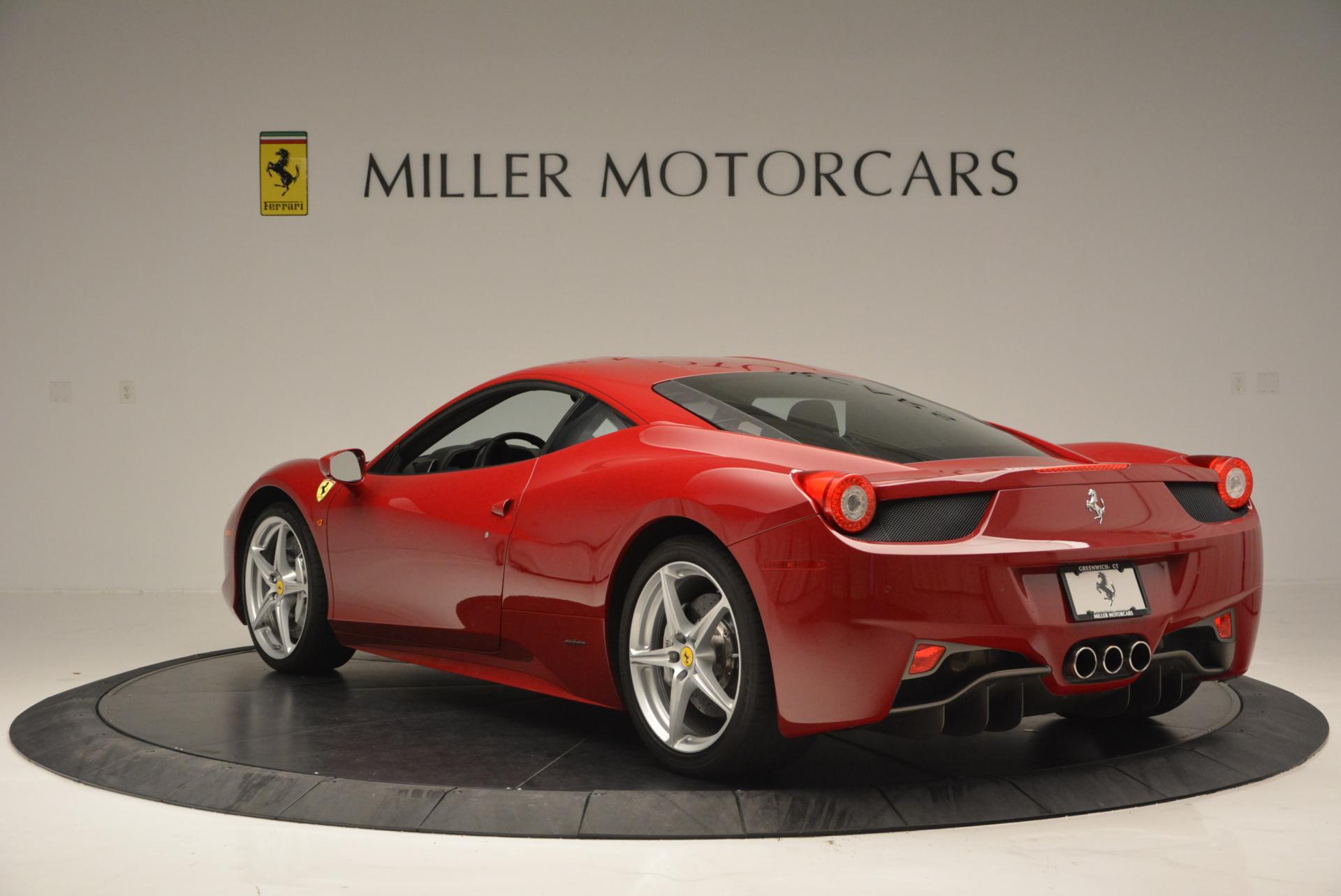 Used 2011 Ferrari 458 Italia  For Sale In Greenwich, CT. Alfa Romeo of Greenwich, 4426 551_p5