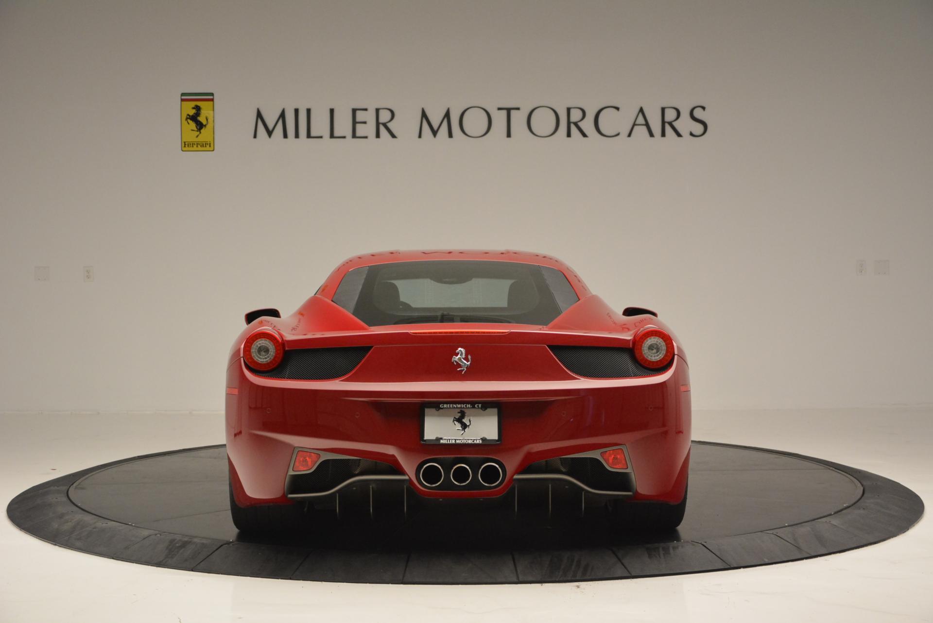 Used 2011 Ferrari 458 Italia  For Sale In Greenwich, CT. Alfa Romeo of Greenwich, 4426 551_p6