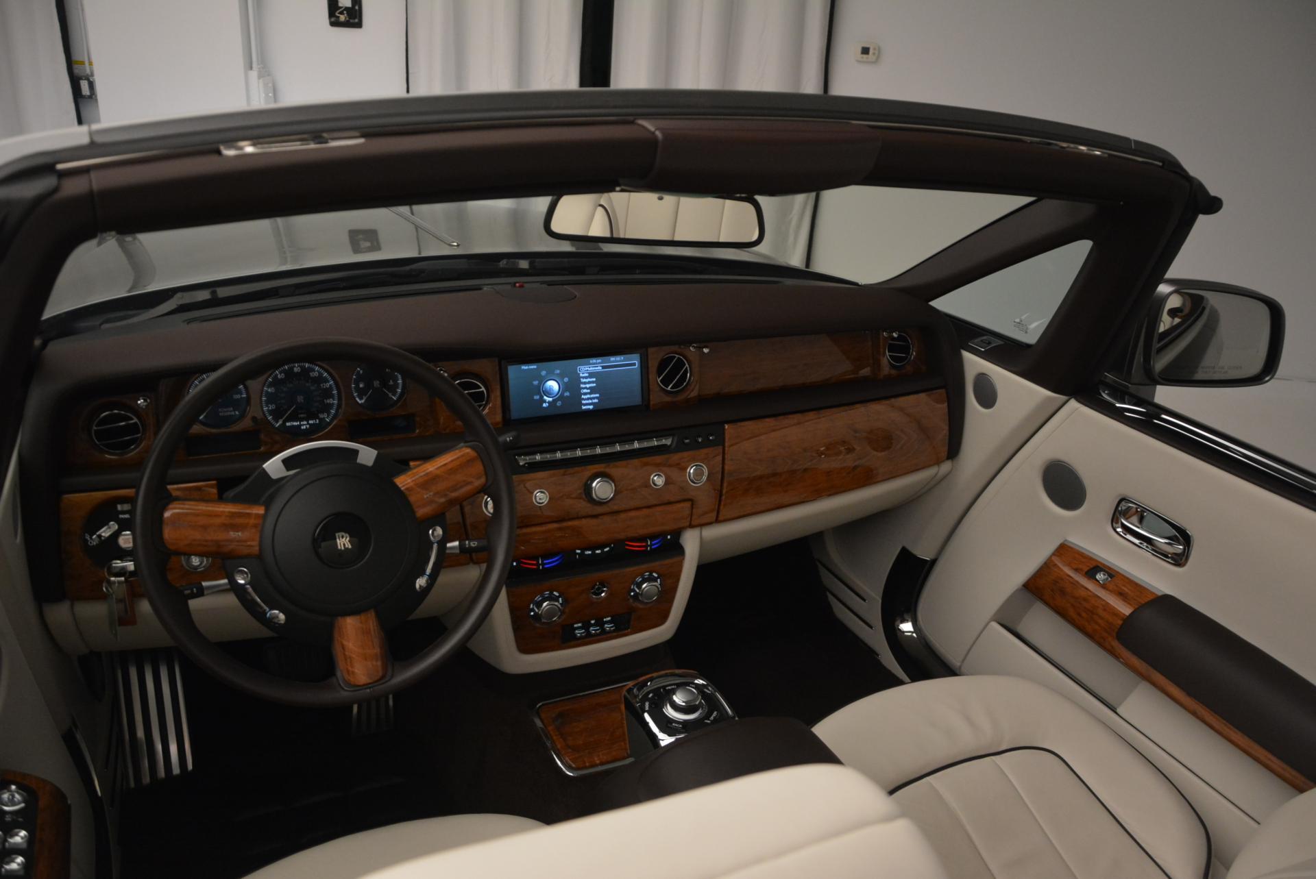 Used 2015 Rolls-Royce Phantom Drophead Coupe  For Sale In Greenwich, CT. Alfa Romeo of Greenwich, R377A 554_p29