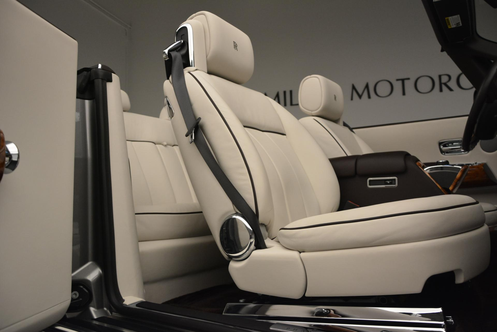 Used 2015 Rolls-Royce Phantom Drophead Coupe  For Sale In Greenwich, CT. Alfa Romeo of Greenwich, R377A 554_p37