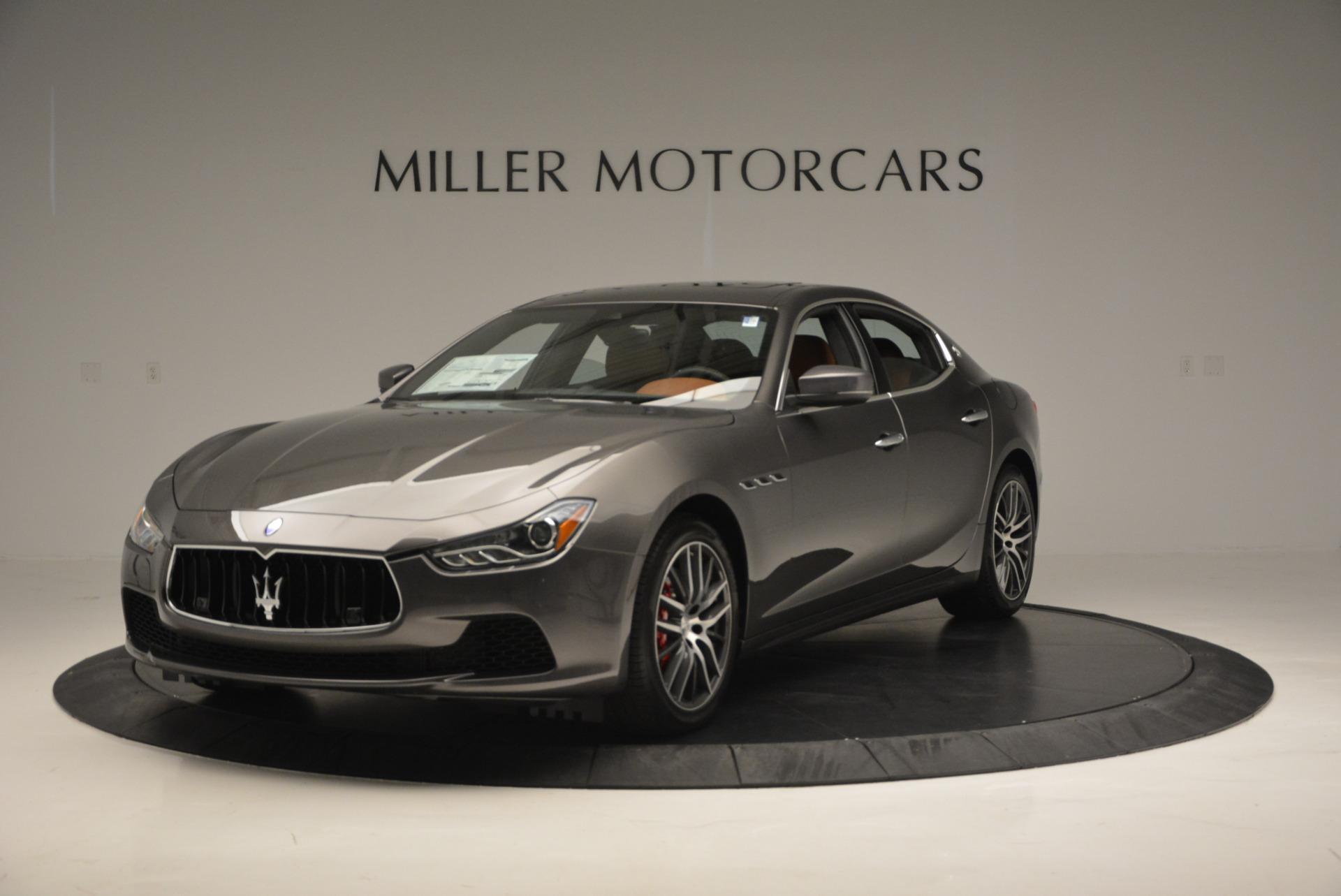 Used 2017 Maserati Ghibli S Q4  EX-LOANER For Sale In Greenwich, CT. Alfa Romeo of Greenwich, W311 565_main