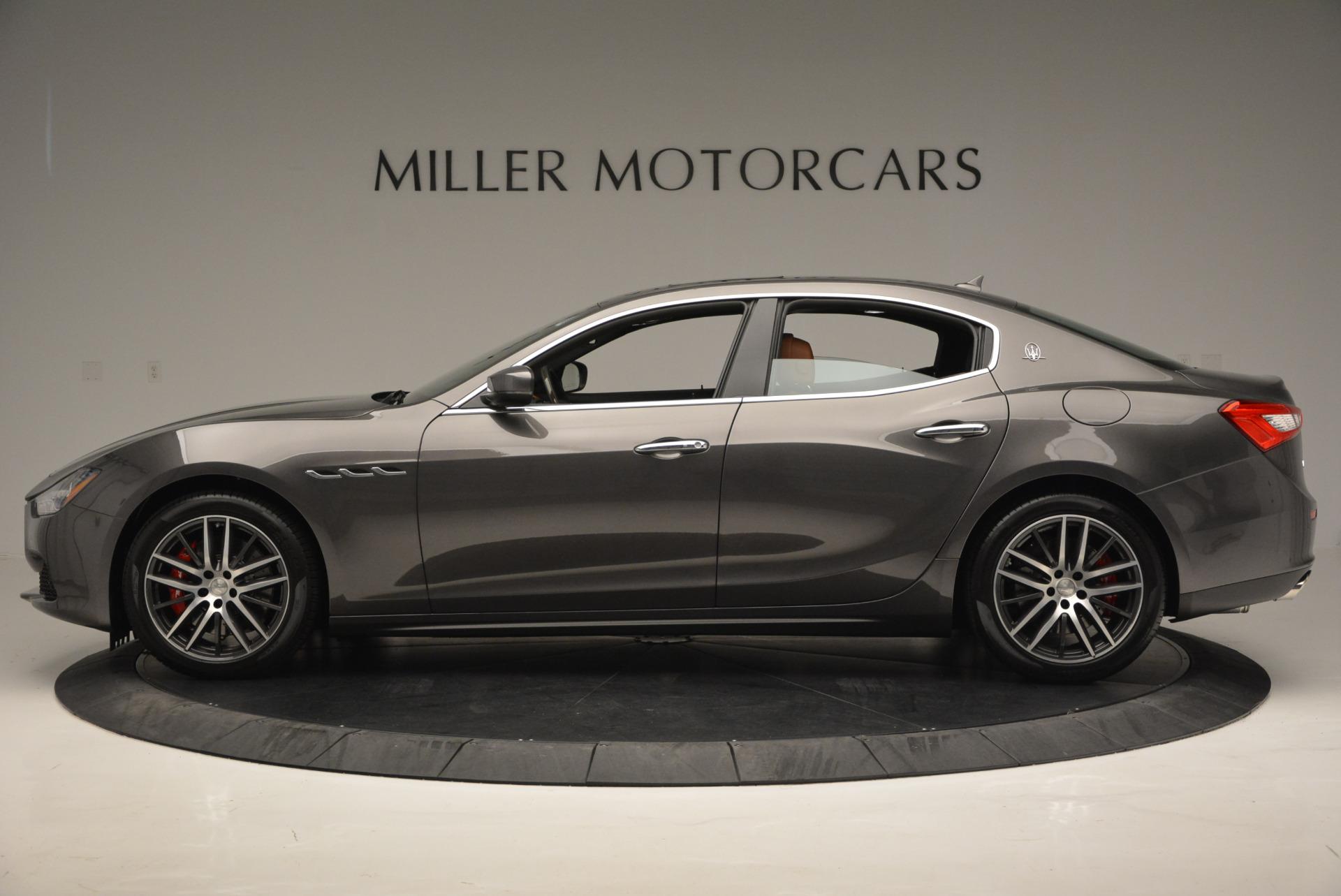 Used 2017 Maserati Ghibli S Q4  EX-LOANER For Sale In Greenwich, CT. Alfa Romeo of Greenwich, W311 565_p3