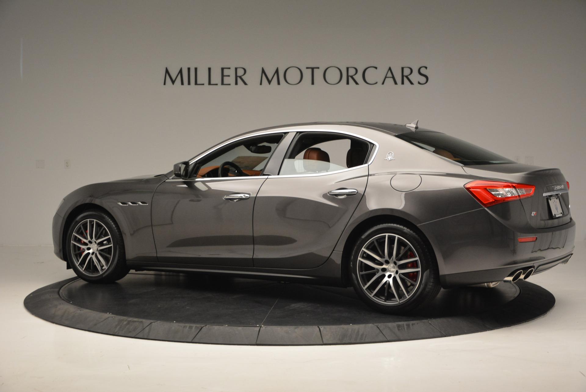 Used 2017 Maserati Ghibli S Q4  EX-LOANER For Sale In Greenwich, CT. Alfa Romeo of Greenwich, W311 565_p4