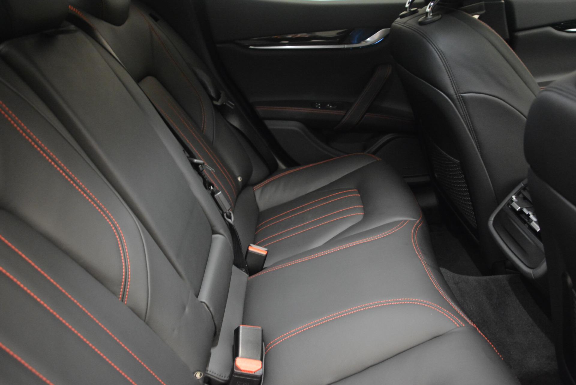 New 2017 Maserati Ghibli S Q4 For Sale In Greenwich, CT. Alfa Romeo of Greenwich, W349 566_p23
