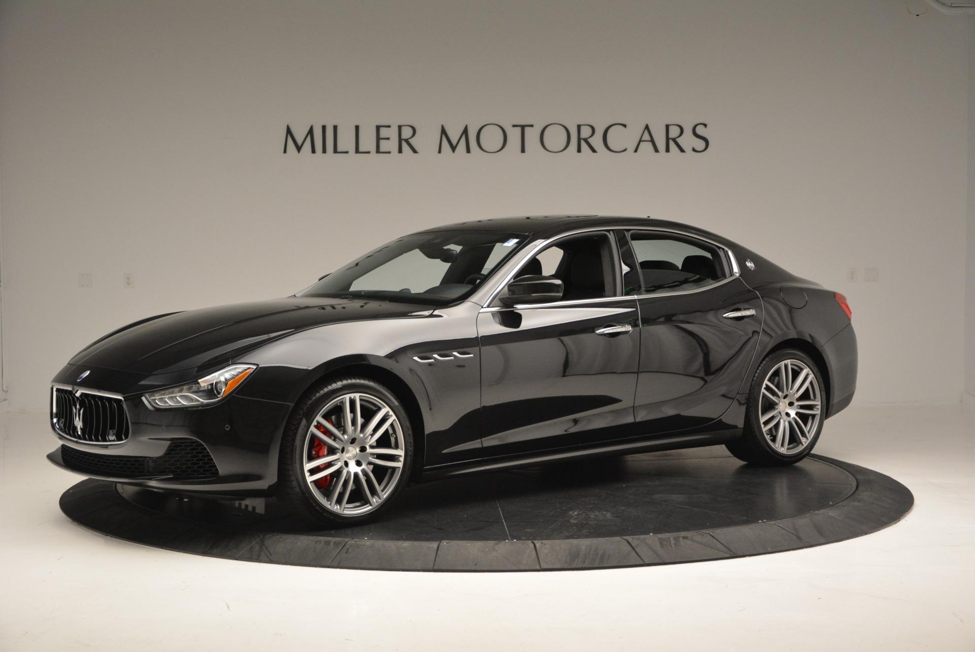 New 2017 Maserati Ghibli S Q4 For Sale In Greenwich, CT. Alfa Romeo of Greenwich, W349 566_p2