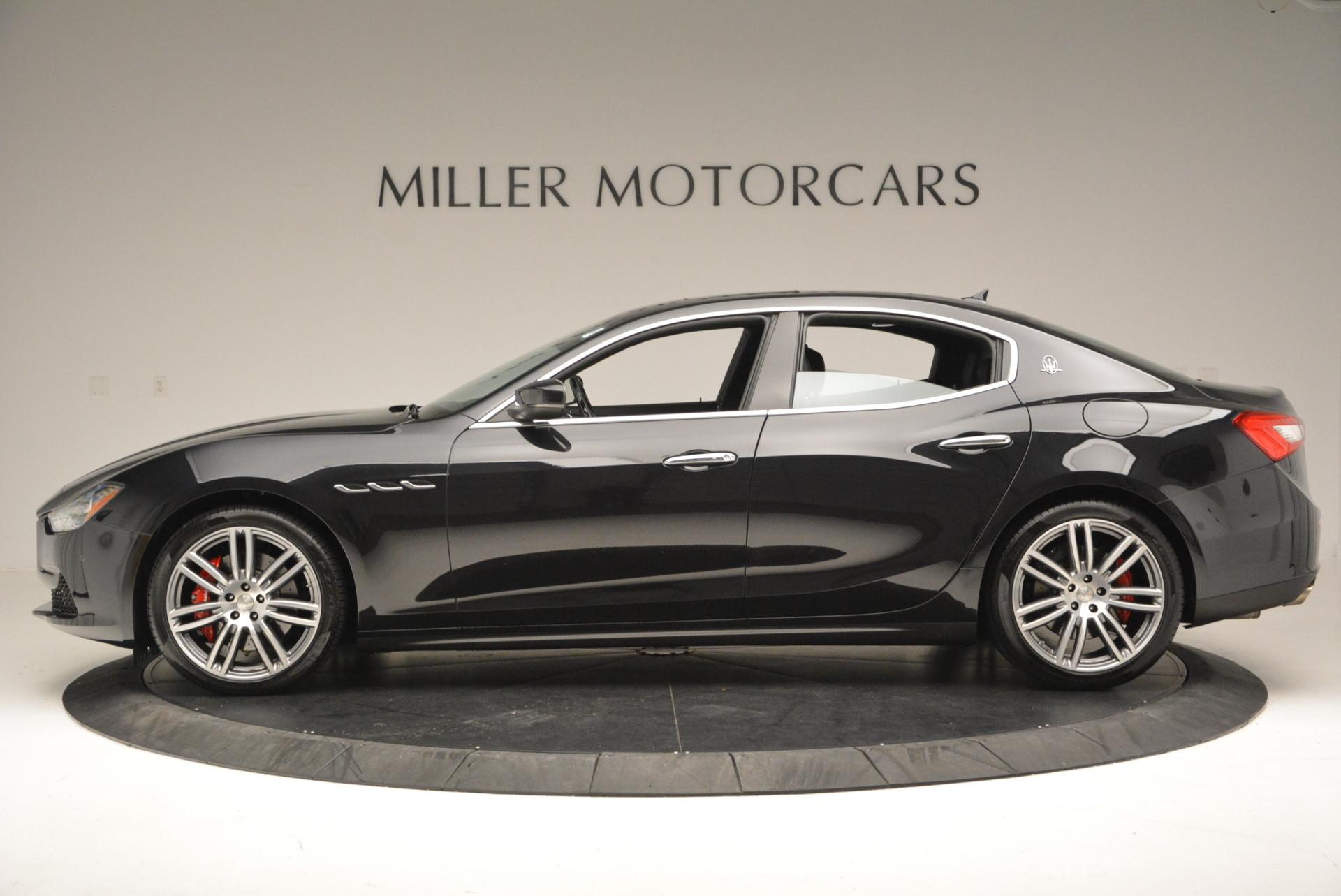 New 2017 Maserati Ghibli S Q4 For Sale In Greenwich, CT. Alfa Romeo of Greenwich, W349 566_p3