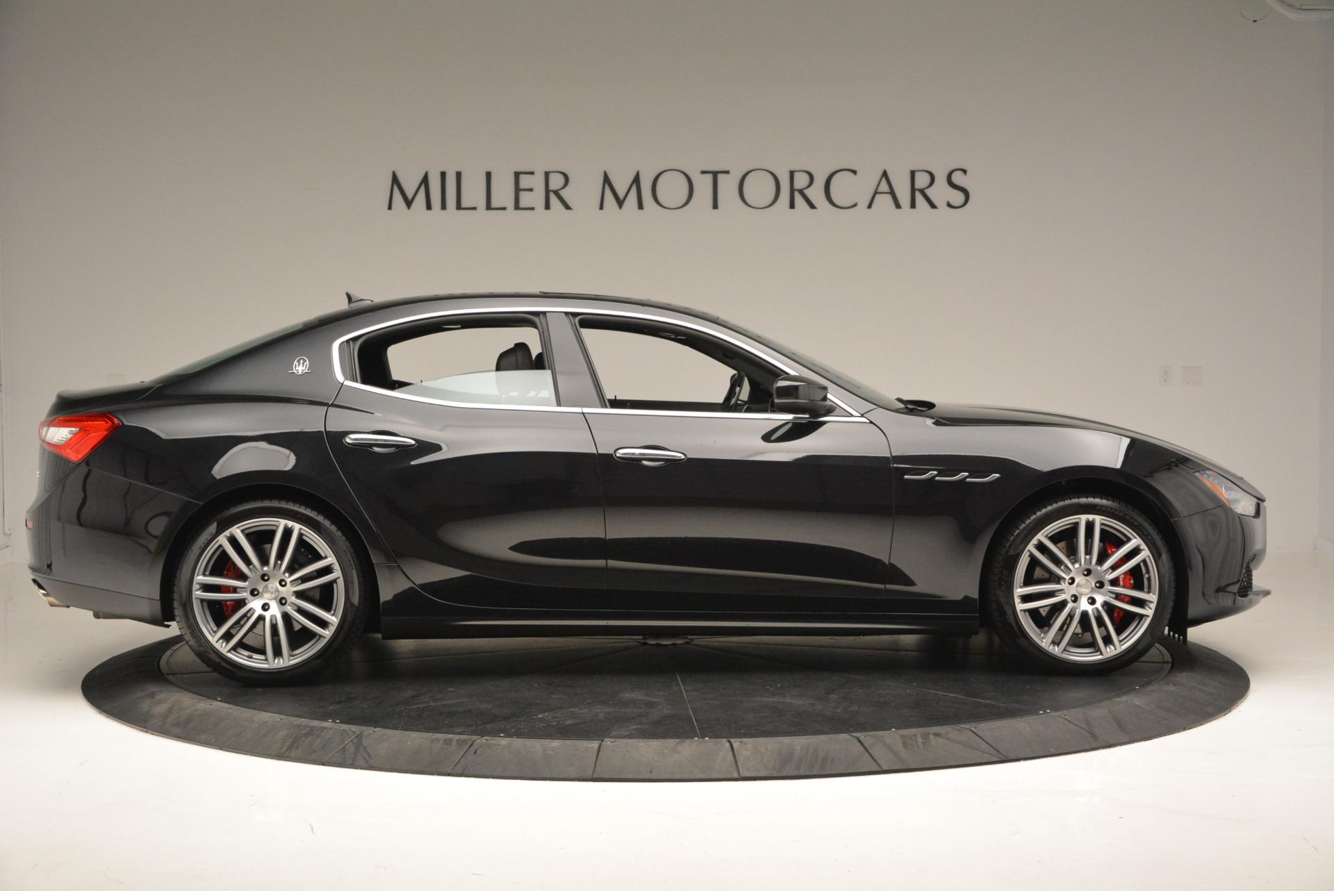New 2017 Maserati Ghibli S Q4 For Sale In Greenwich, CT. Alfa Romeo of Greenwich, W349 566_p9