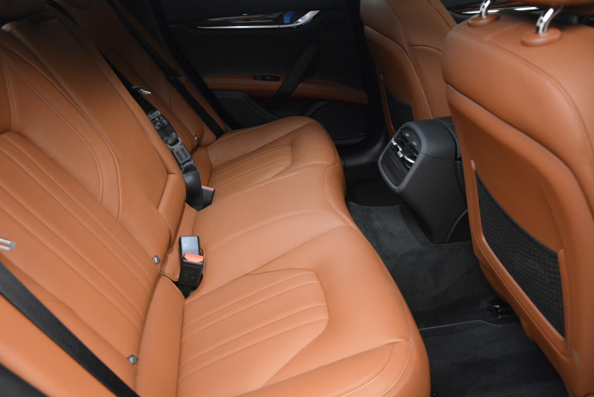 Used 2017 Maserati Ghibli S Q4 - EX Loaner For Sale In Greenwich, CT. Alfa Romeo of Greenwich, M1656 567_p23