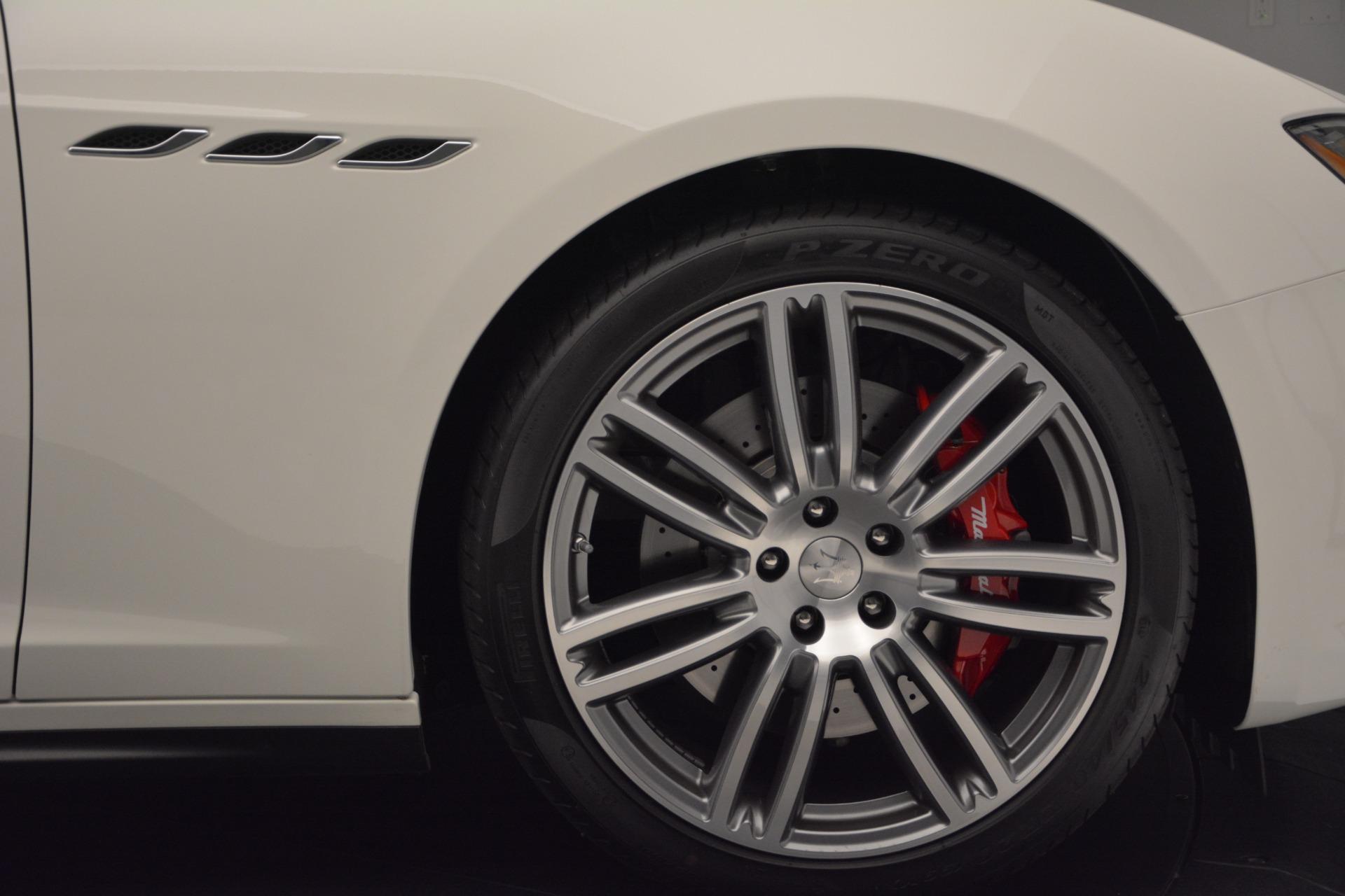 New 2017 Maserati Ghibli S Q4 For Sale In Greenwich, CT. Alfa Romeo of Greenwich, M1655 570_p14