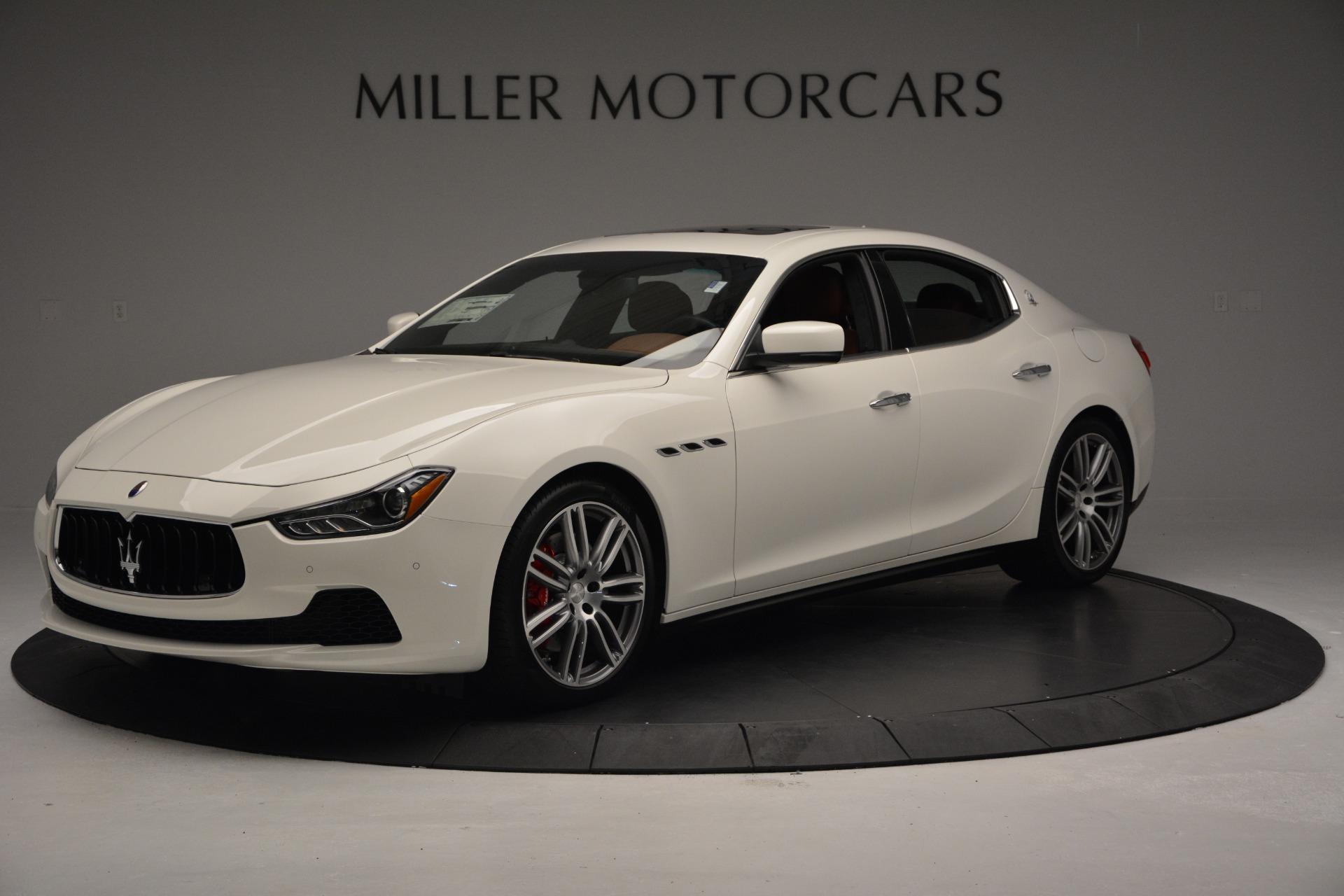 New 2017 Maserati Ghibli S Q4 For Sale In Greenwich, CT. Alfa Romeo of Greenwich, M1655 570_p2