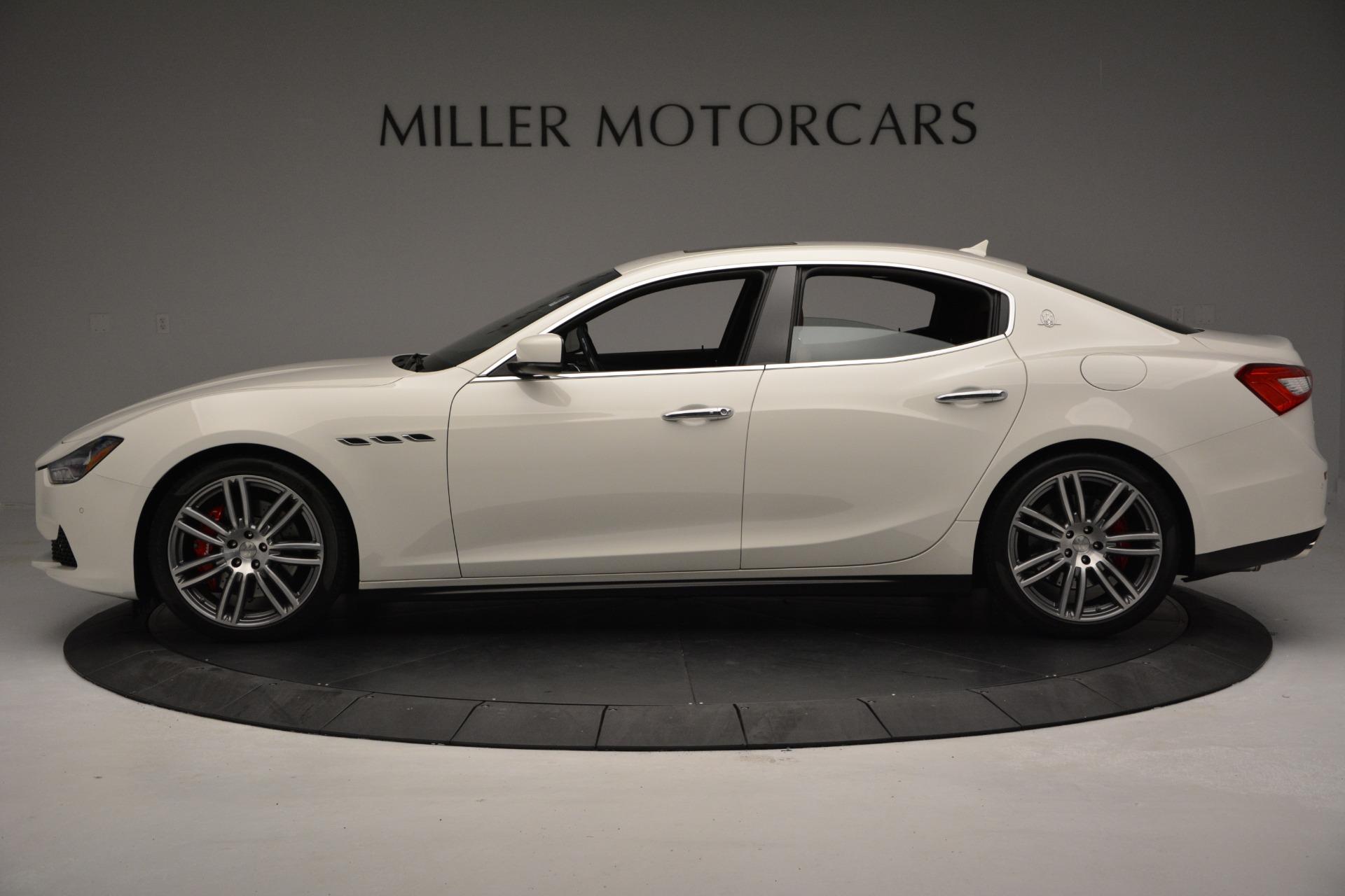 New 2017 Maserati Ghibli S Q4 For Sale In Greenwich, CT. Alfa Romeo of Greenwich, M1655 570_p3